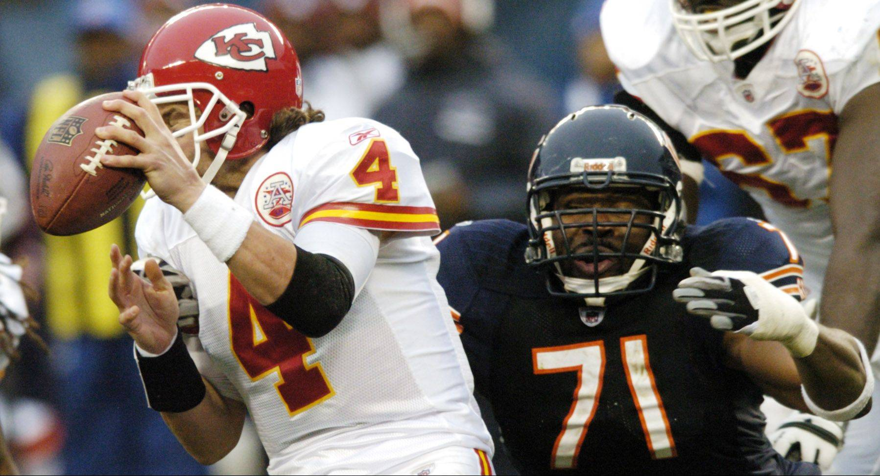 Defensive end Israel Idonije�s credentials against the run are more than solid. He led all Bears linemen by a wide margin with 57 tackles last season, 30 more than Julius Peppers � although that�s partly because offenses usually choose to avoid Peppers. But the Bears want more from their defensive ends in the pass rush this season.