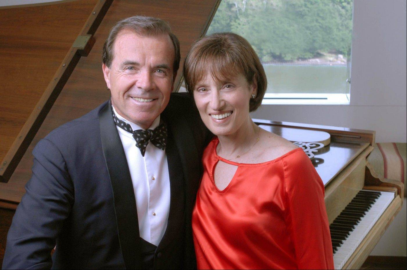 Husband-and-wife pianists Misha and Cipa Dichter perform Sunday in the Martin Theatre at Ravinia Festival in Highland Park.