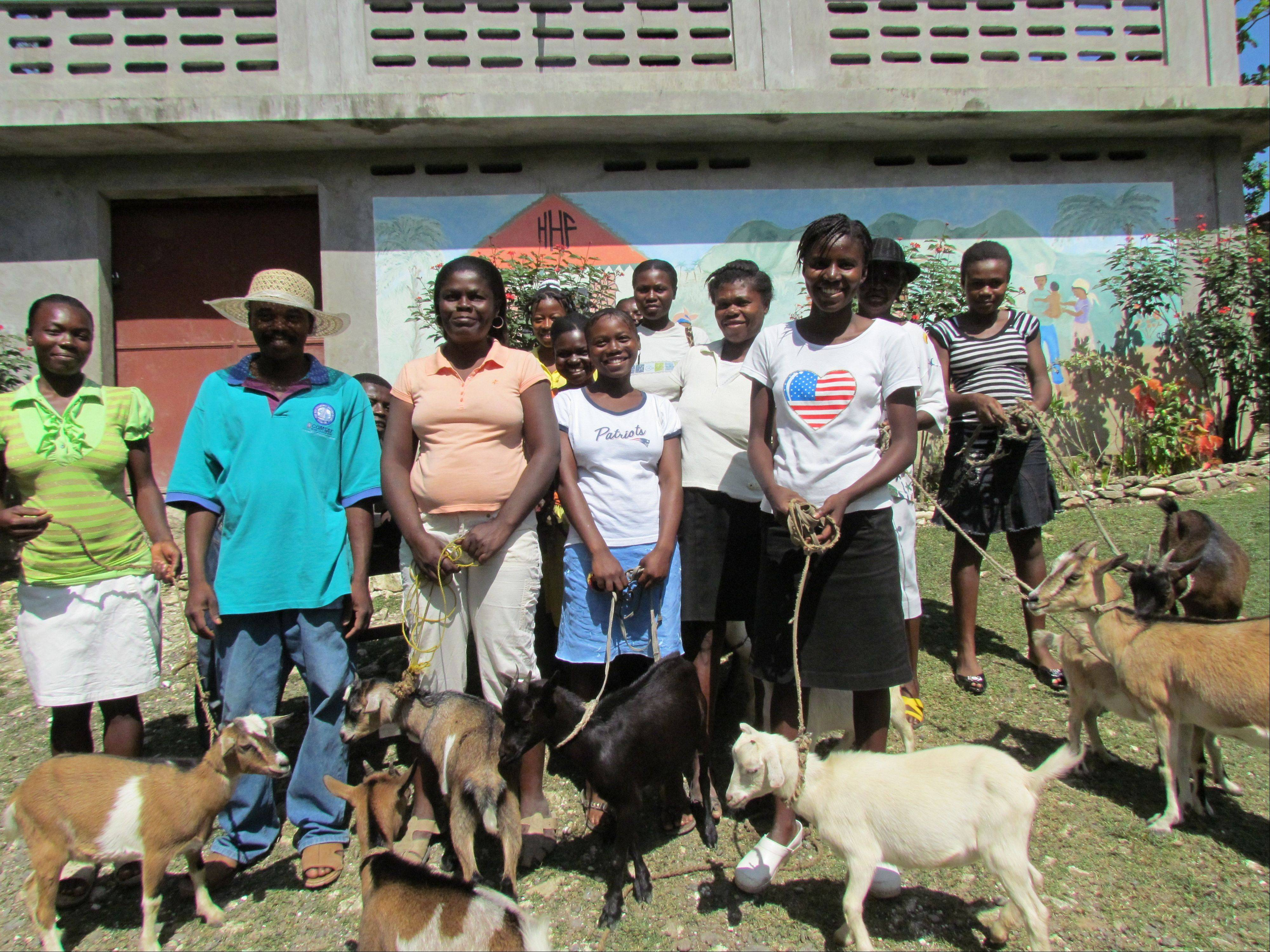 The average Haitian makes only between $90 and $300 a year. Without the Give a Goat program, villagers would never be able to afford a goat on their own, said Dr. Jeremiah Lowney, who founded the Haitian Health Foundation.