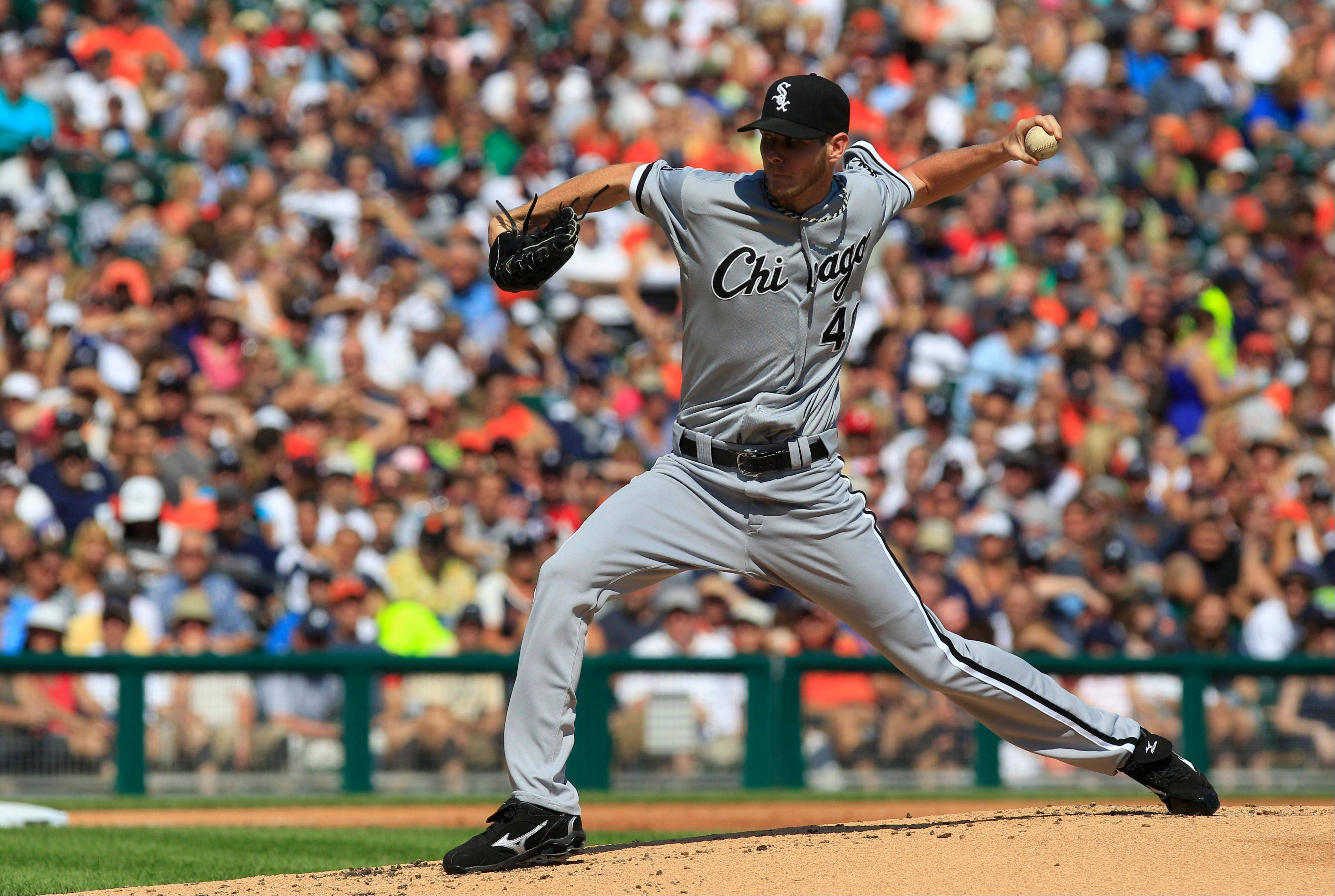 "Chris Sale's velocity was down in his last start, raising a ""red flag"" according to sports injury expert Will Carroll."