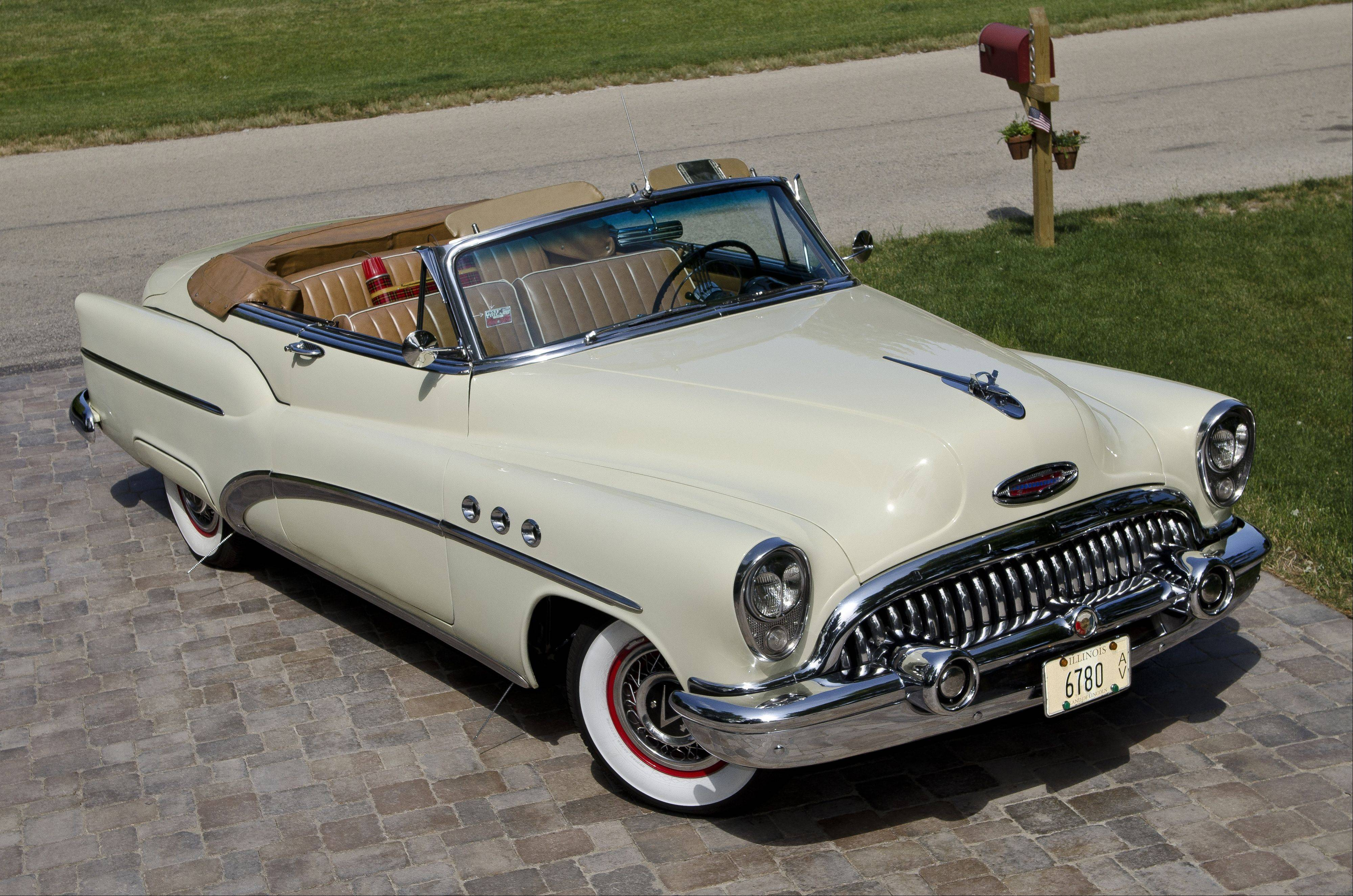 Kurt Fredricks considers his 1953 Buick Super convertible a rolling relative.