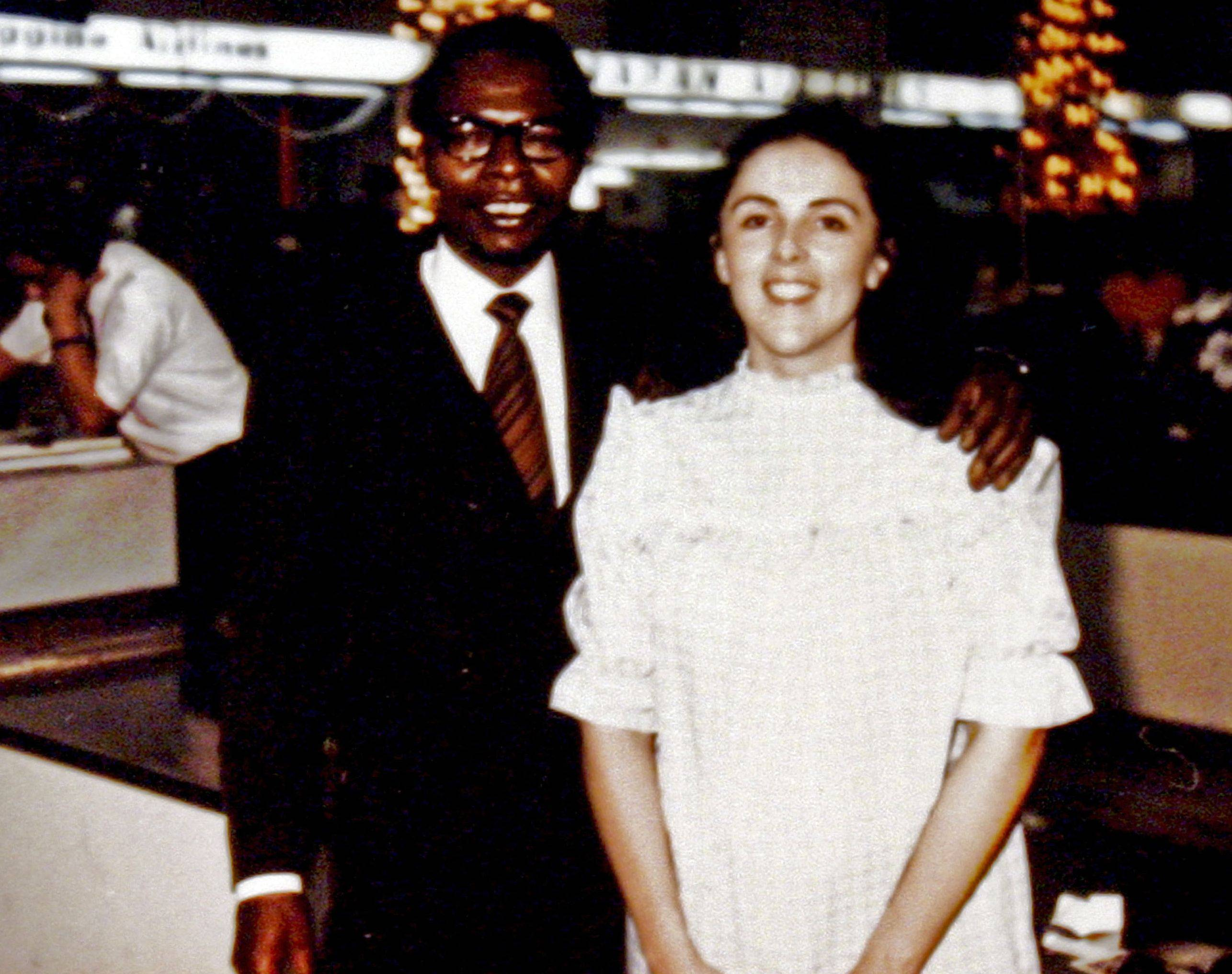 This undated photo shows President Barack Obama�s father, also named Barack Obama, and mother, Stanley Ann Dunham. Ancestry.com announced Monday the president may have at least one descendent who was a slave in the U.S. But the connection comes though his mother.