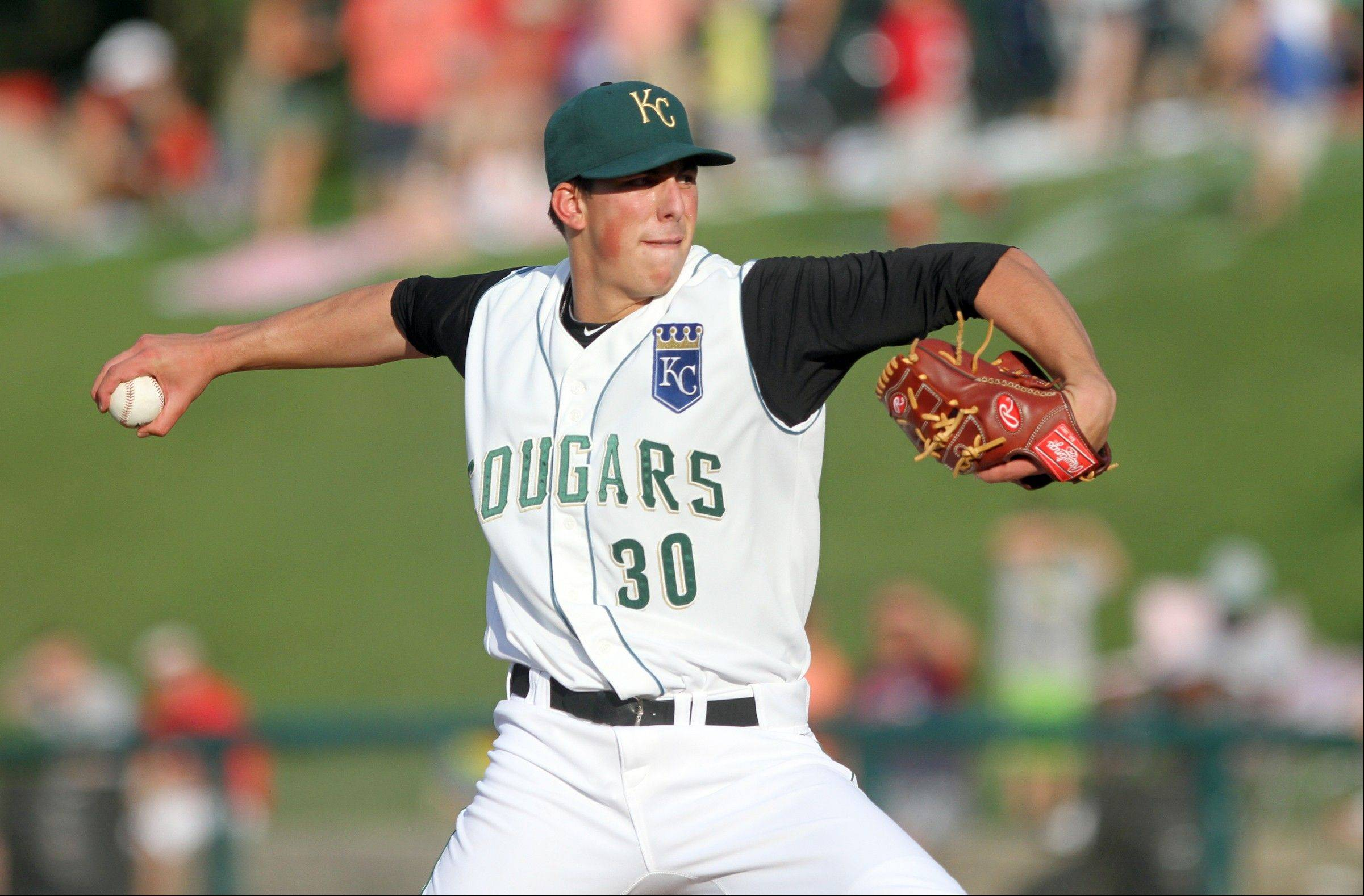 Kyle Zimmer created some buzz with his first start for the Kane County Cougars last week.