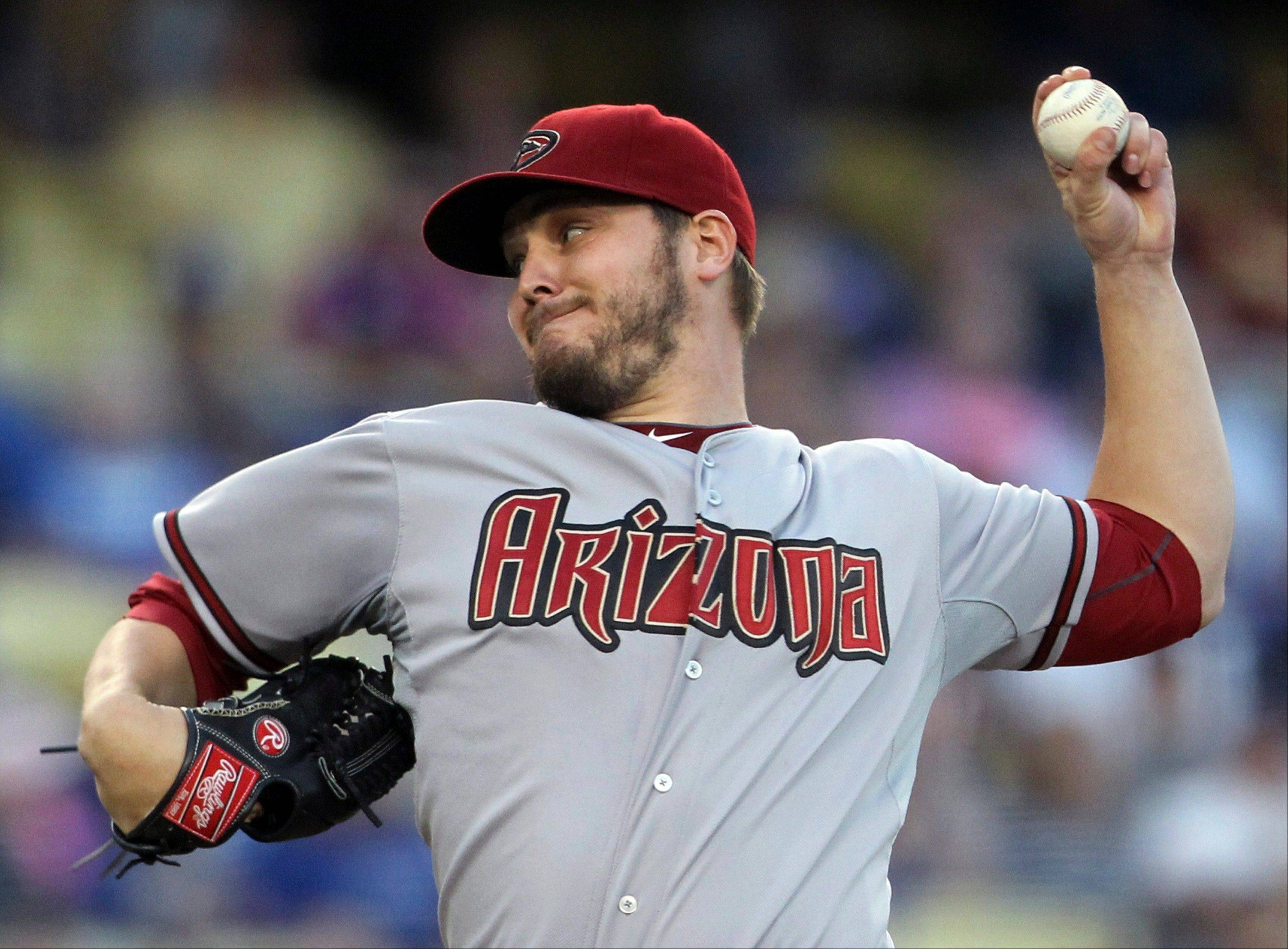 Diamondbacks rookie Wade Miley allowed three hits, struck out seven and walked one in a road victory Tuesday against the Los Angeles Dodgers.