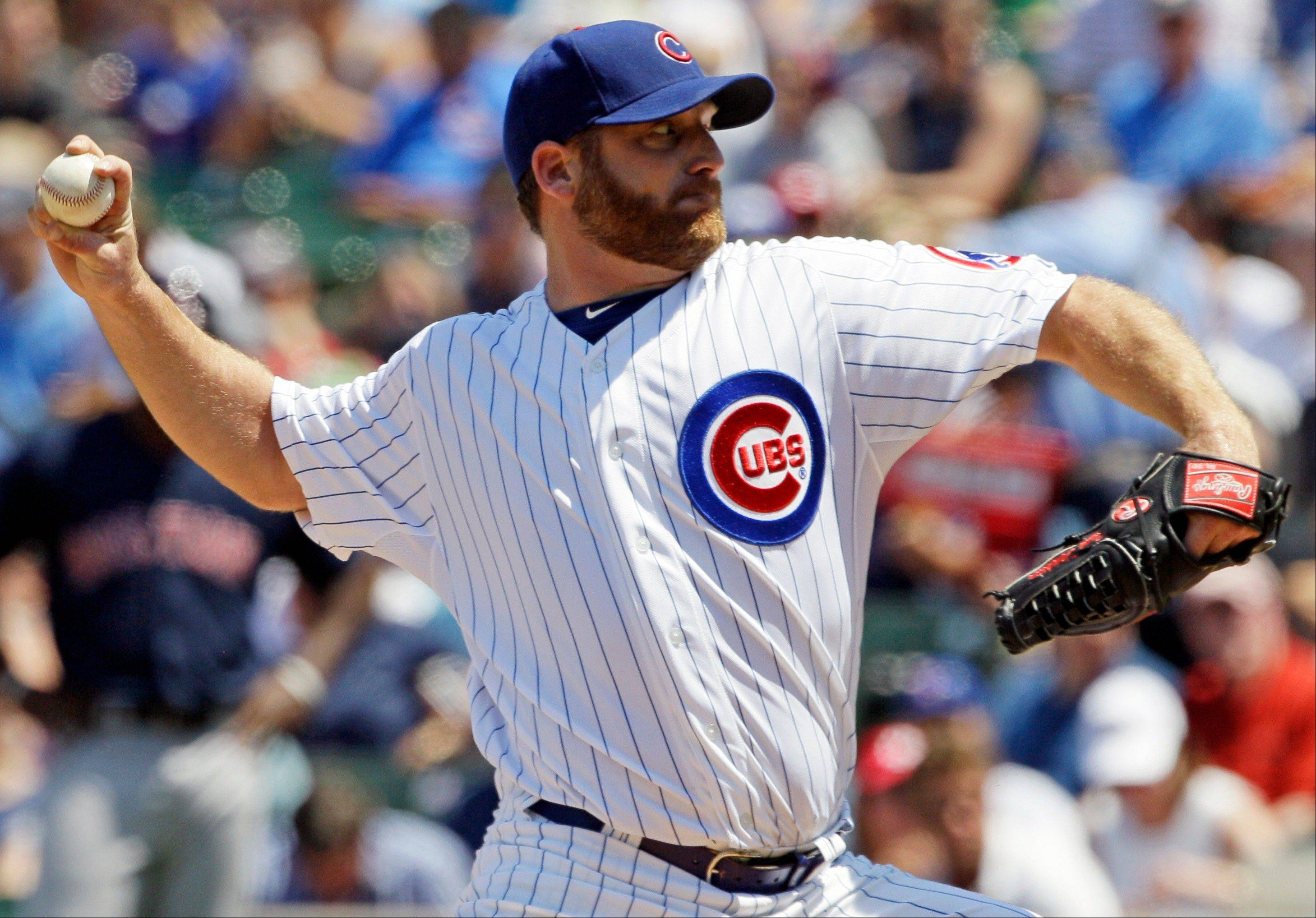 The Cubs traded starter Ryan Dempster to the Texas Rangers.