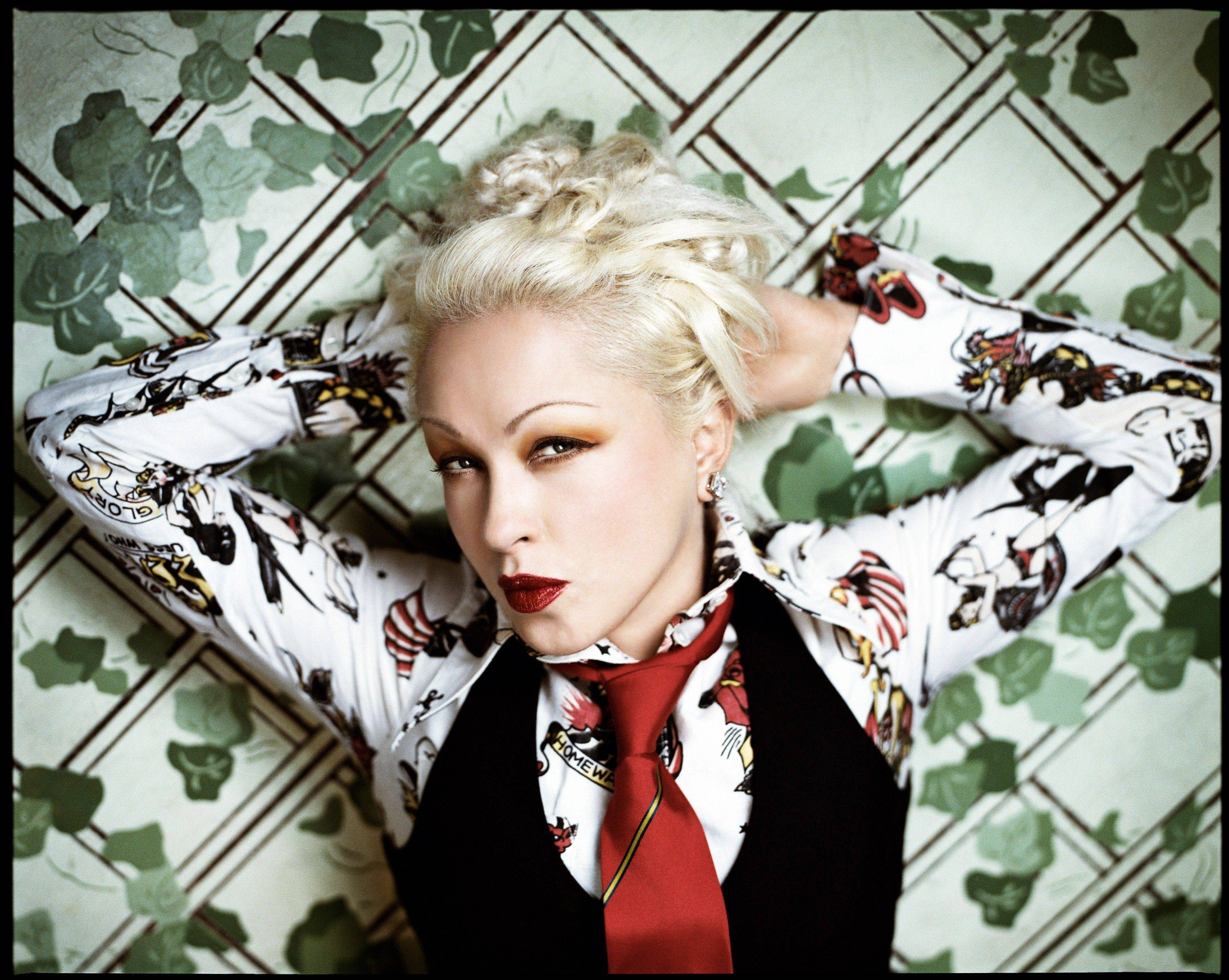 "Pop star and composer Cyndi Lauper (""Kinky Boots"") will make a special appear in the Broadway in Chicago Concert season preview at Millennium Park's Pritzker Pavilion in Chicago on Monday, Aug. 6."