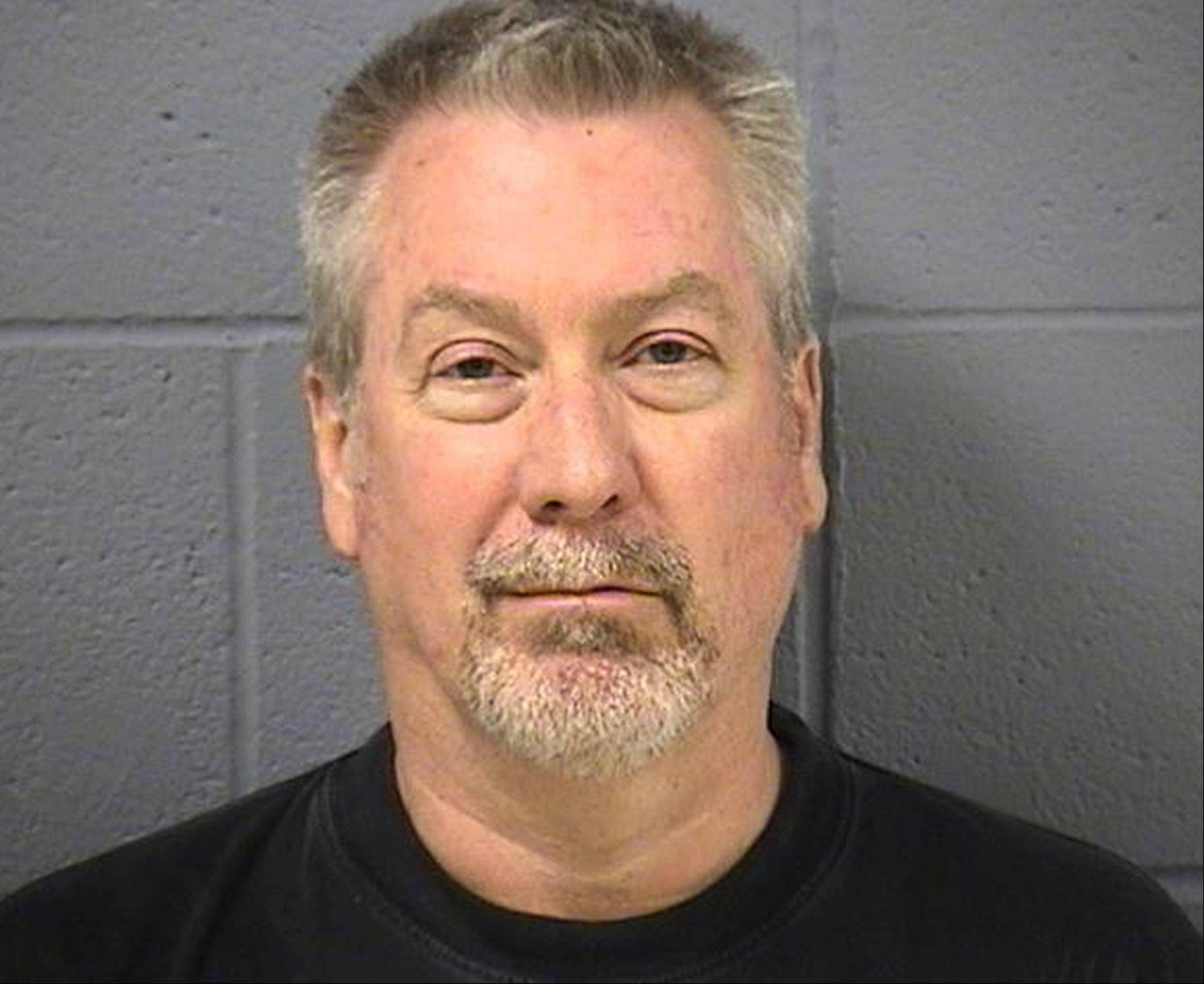 Drew Peterson in his booking photo.