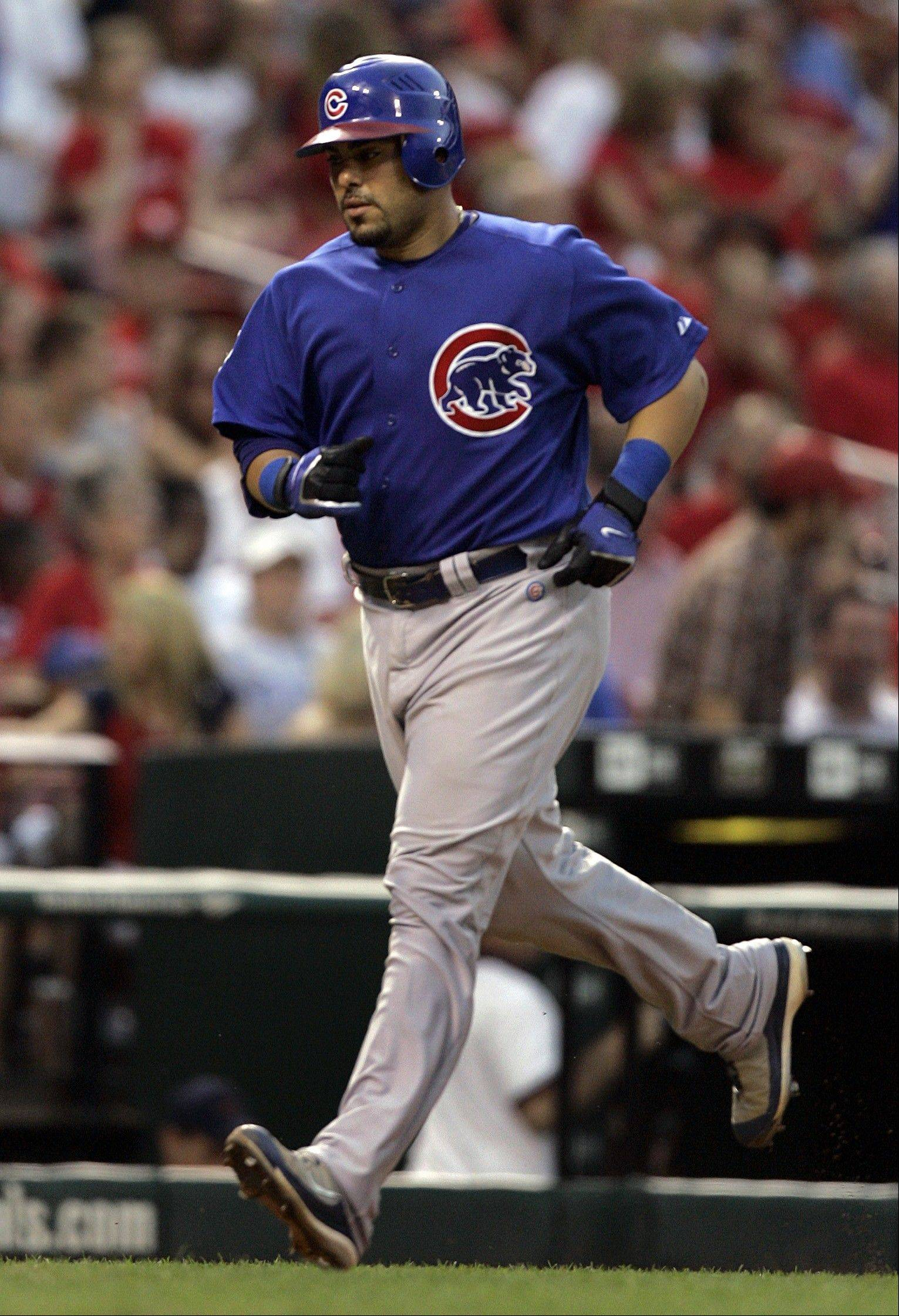 Chicago Cubs' Geovany Soto was traded mid-game yesterday, along with two other Cubs. How about Ryan Dempster? Not yesterday, but maybe today, the trade deadline.