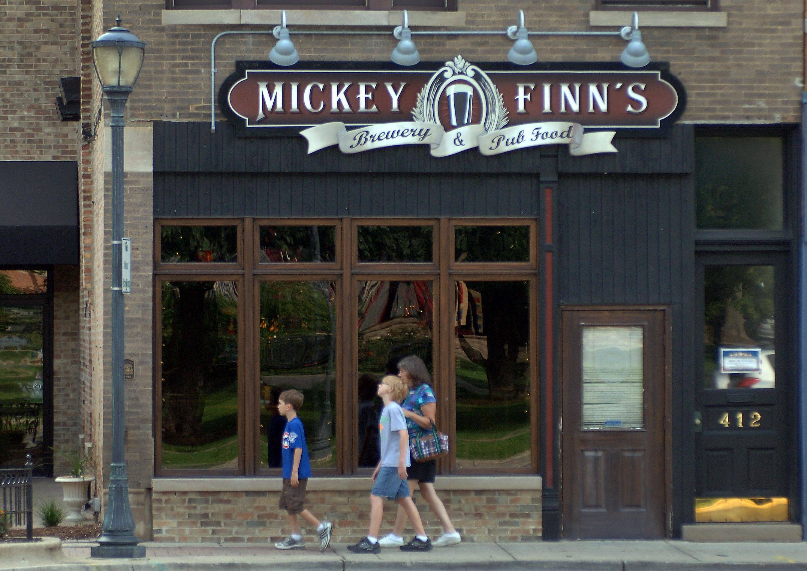 The popular Mickey Finn's restaurant and brewery plans to relocate less than a block away from its current location on Milwaukee Avenue across from Cook Park in downtown Libertyville.