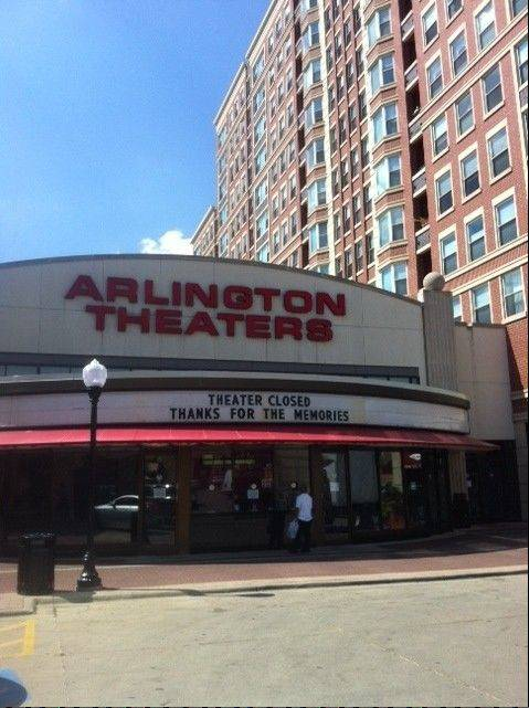 The Arlington Theaters opened in 1998 and closed on July 11, 2012, leaving holders of gift cards in limbo and for now out their money.