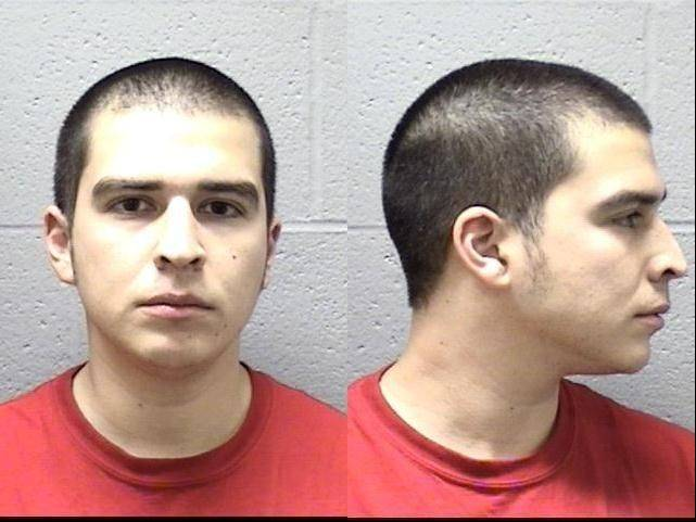 Elgin police on Wednesday took this booking photo of George Martinez, who is charged in a 2008 Halloween murder.