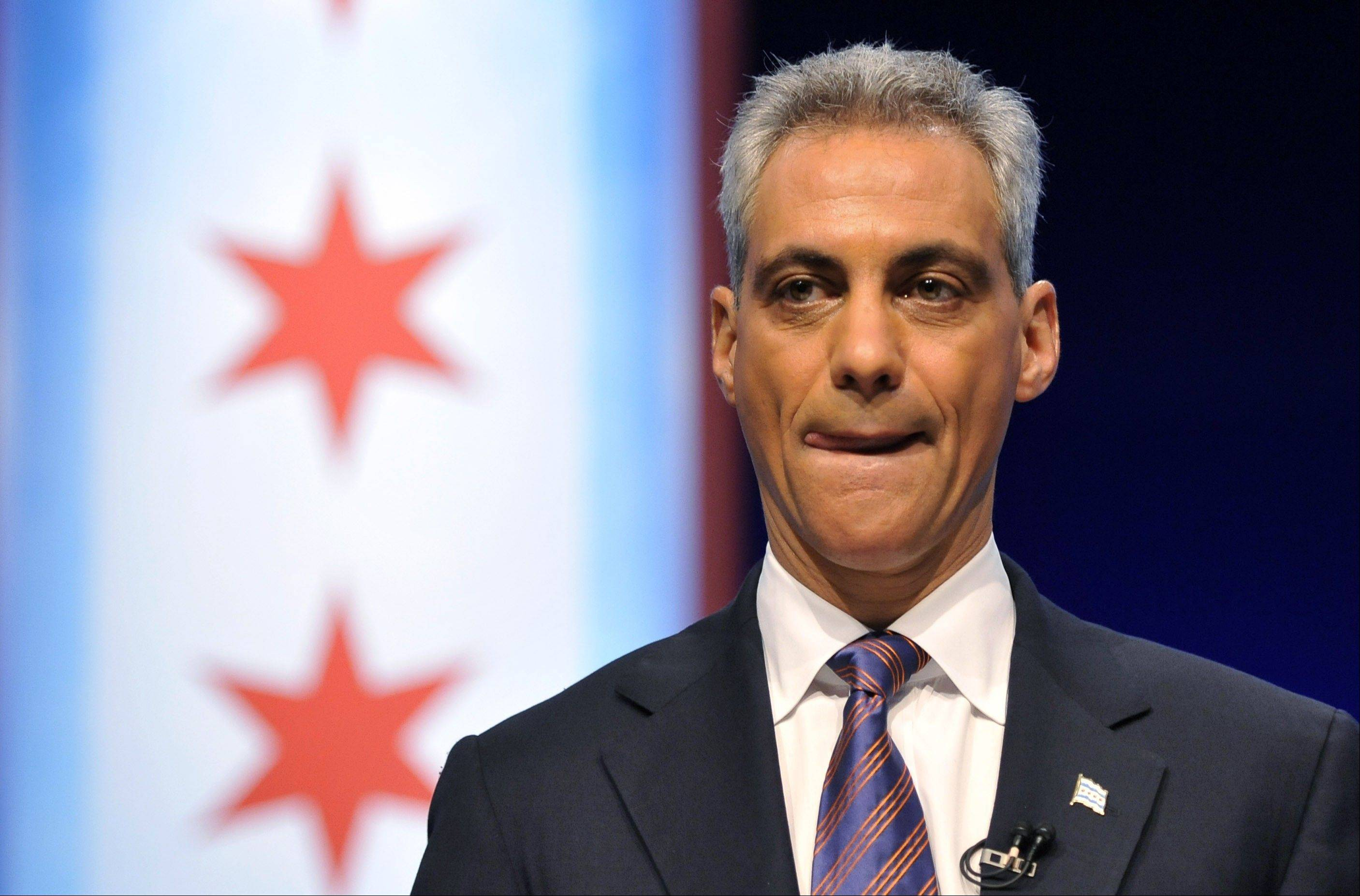 "Before Minnesota officials announced a settlement with Chicago medical revenue company Accretive Health, Chicago Mayor Rahm Emanuel, above, sent a letter to the Minnesota attorney general asking to ""resolve the matter privately."""
