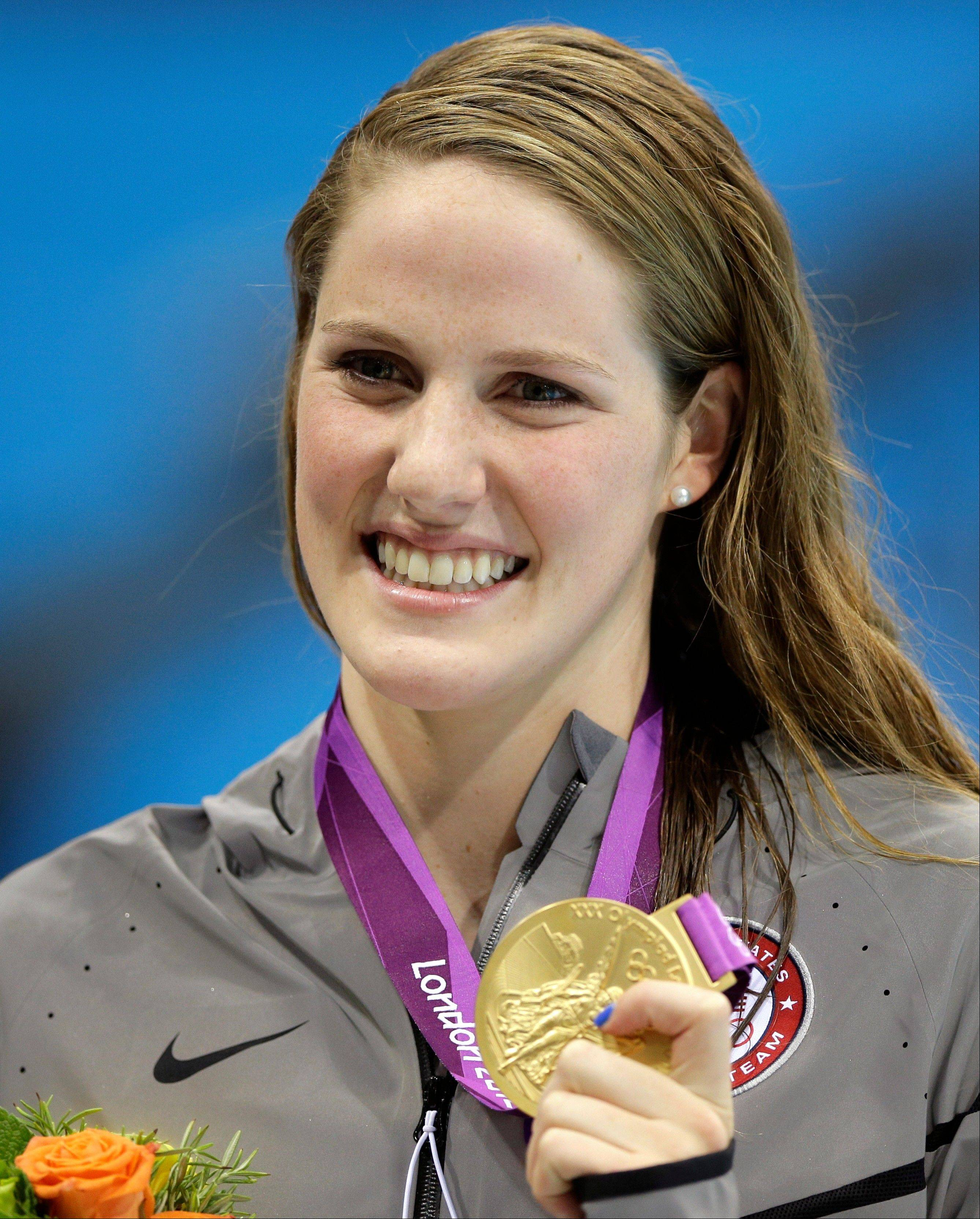 Colorado has seen its share of pain this year with a mass movie theater shooting and deadly wildfires that destroyed hundreds of homes. But when Missy Franklin cinched her first gold medal at the London Olympic Games this week, it was finally time to cheer.