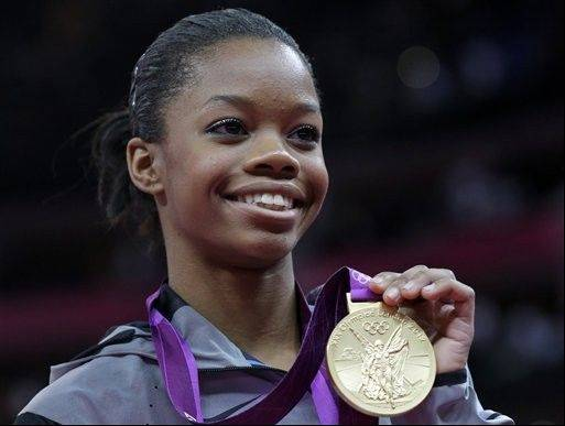 'Gabby' wins all-around gymnastics gold for U.S.