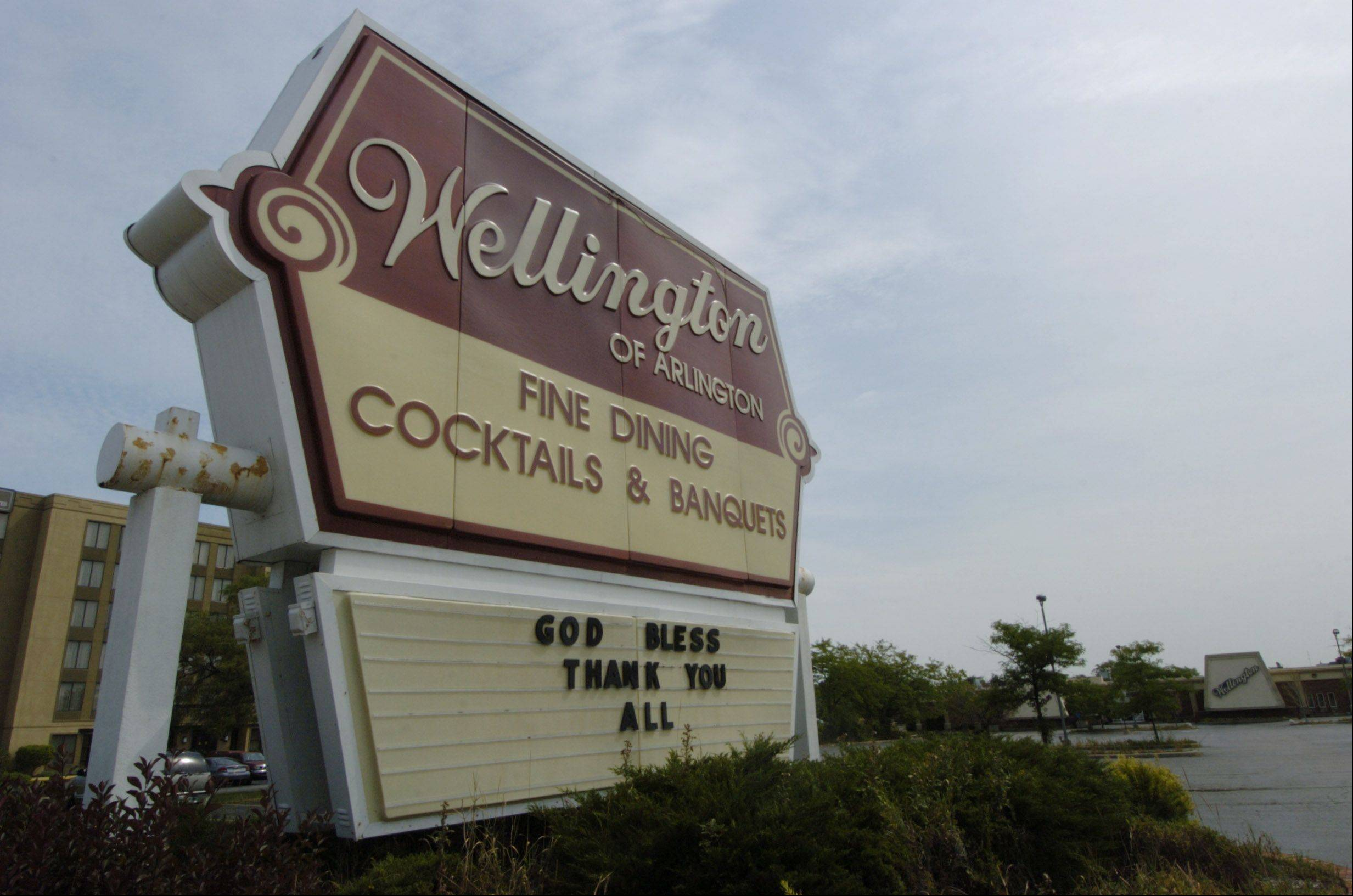 The Wellington says so long to the families, clubs and businesses that patronized it for nearly 30 years.