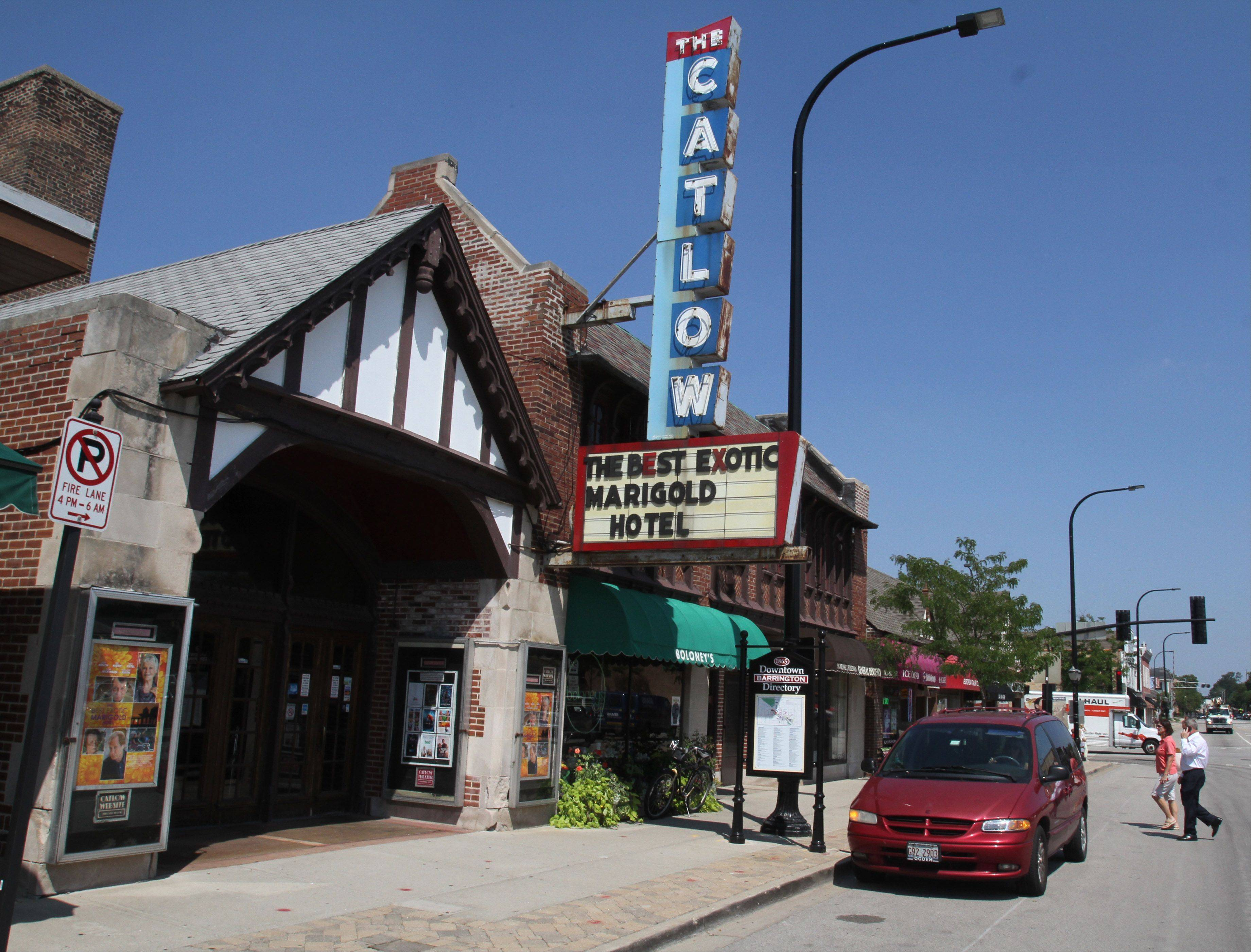 The Catlow theater in Barrington must upgrade to digital projection if it wants to continue showing Hollywood's latest releases.