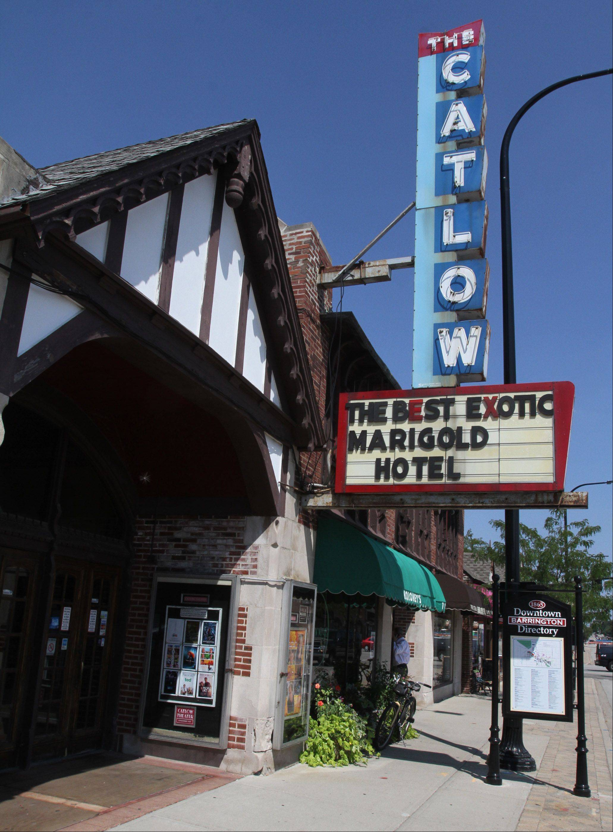 The Catlow theater in Barrington is attracting donors worldwide who just want old theater houses preserved.
