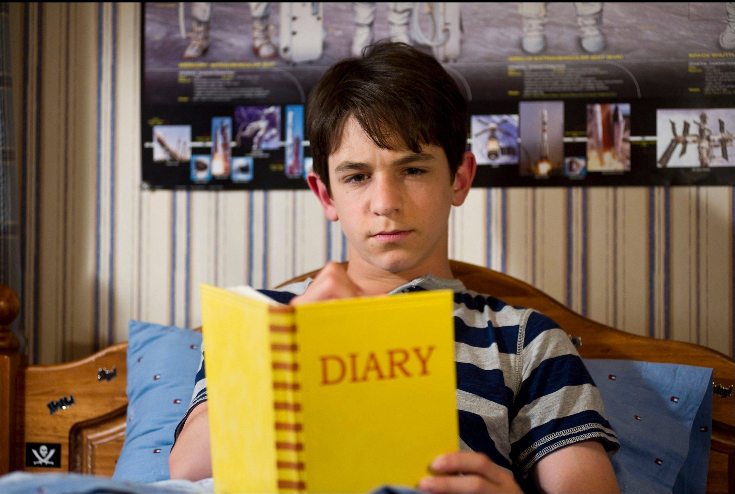 "Greg's (Zachary Gordon) summer plans don't go exactly as he had hoped in ""Diary of a Wimpy Kid: Dog Days."""