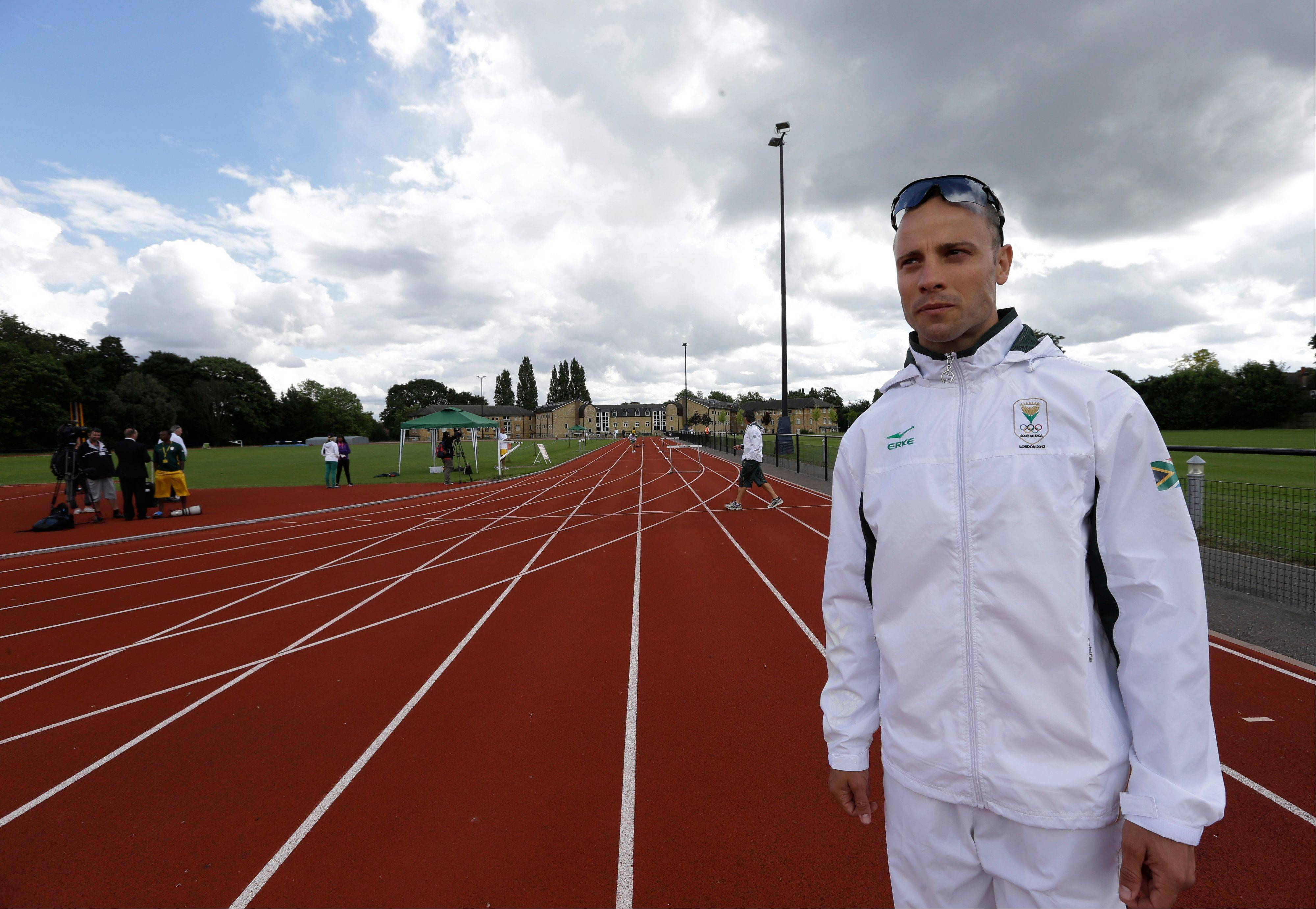 South Africa's sprinter Oscar Pistorius will be the first amputee athlete to run at any Olympics.