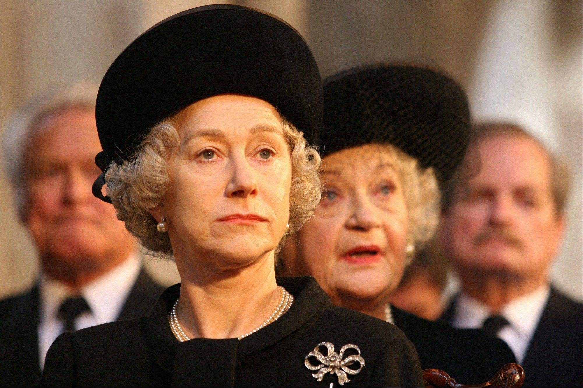 "Helen Mirren portrays Queen Elizabeth II in ""The Queen."""