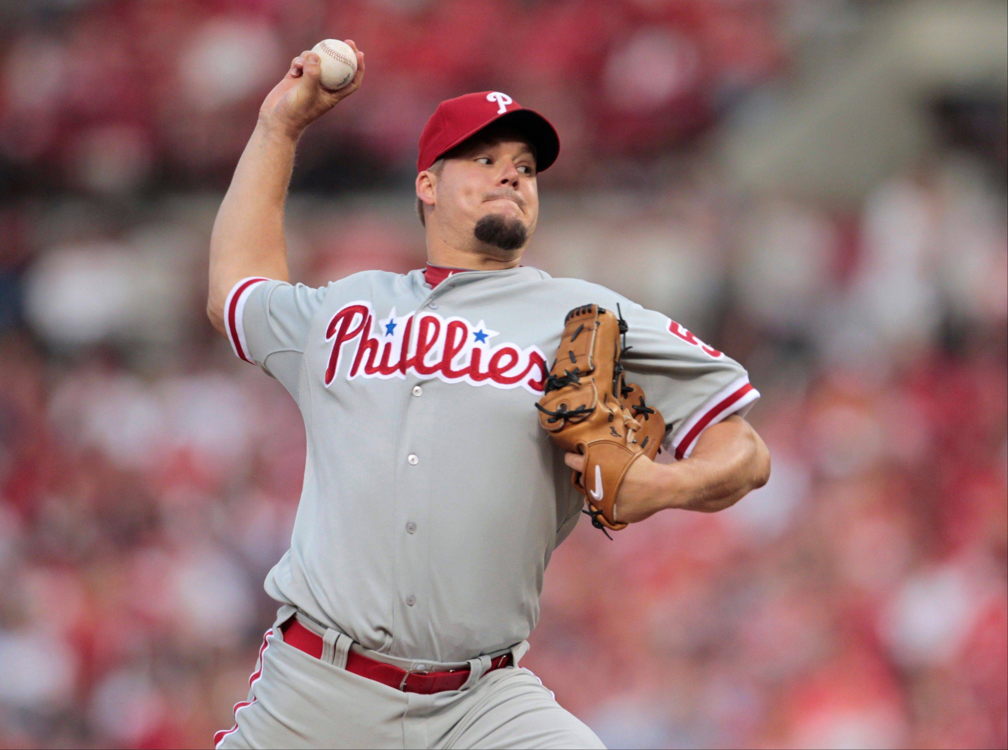 Phillies starting pitcher Joe Blanton was traded to the Dodgers on Friday after Los Angeles claimed him on waivers. Blanton will join outfielder Shane Victorino, who was sent from the Phillies to Los Angeles on Tuesday.