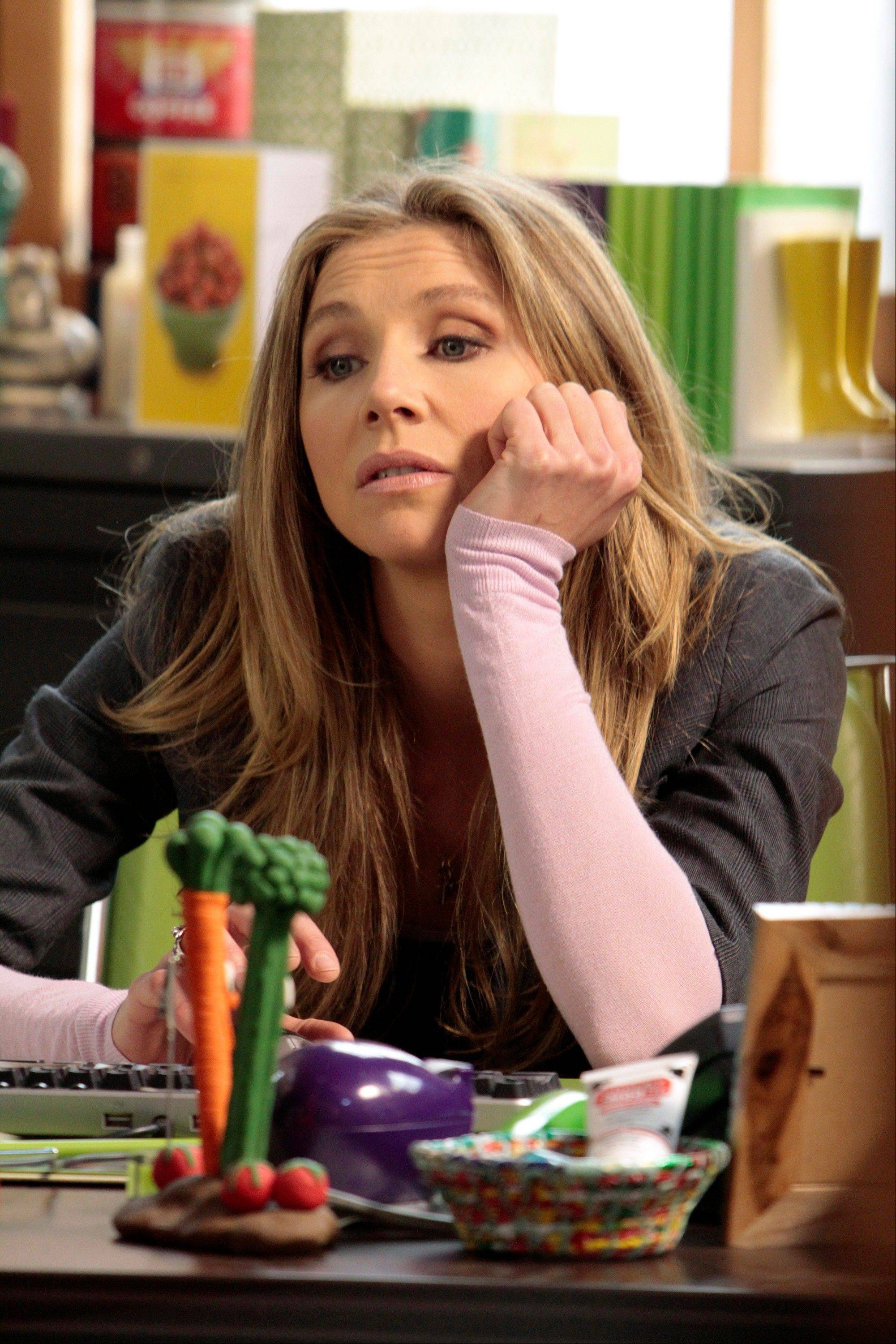 "Divorced mom Polly (Sarah Chalke) moves back home in ABC's ""How to Live With Your Parents (For the Rest of Your Life),"" drawn from the domestic situation of creator Claudia Lonow, who, well into adulthood, continues to live with her parents."