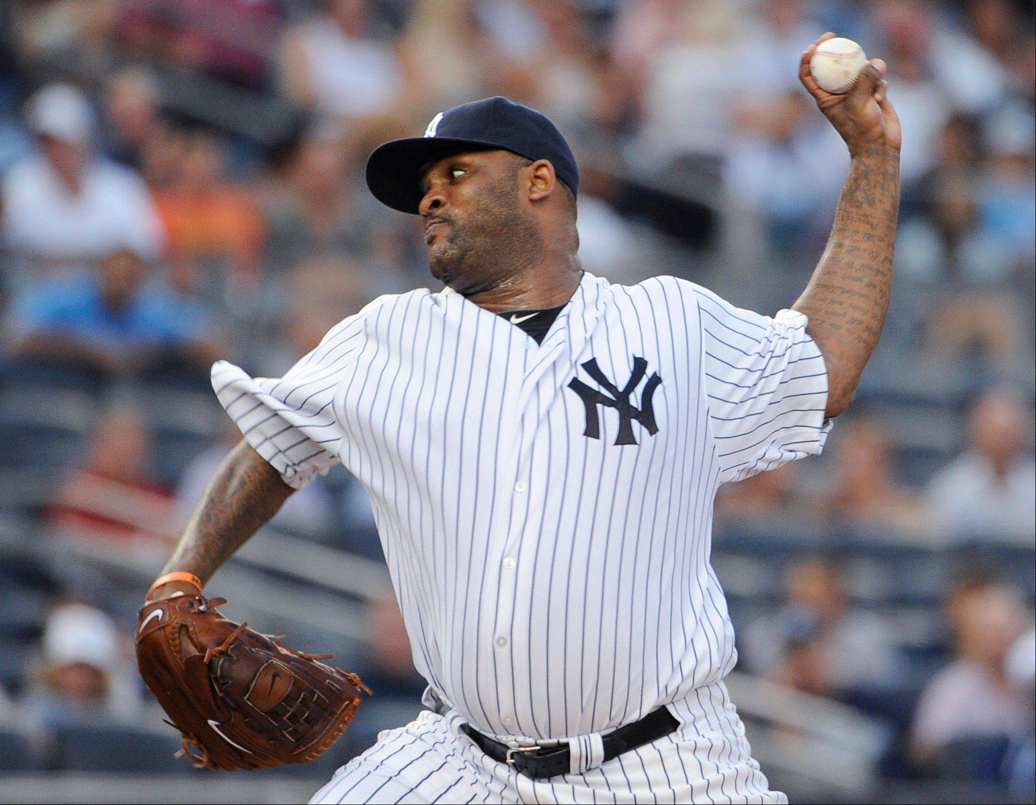 New York Yankees starting pitcher CC Sabathia improved to 8-0 with a 1.20 ERA in his past eight starts against the Mariners on Friday.