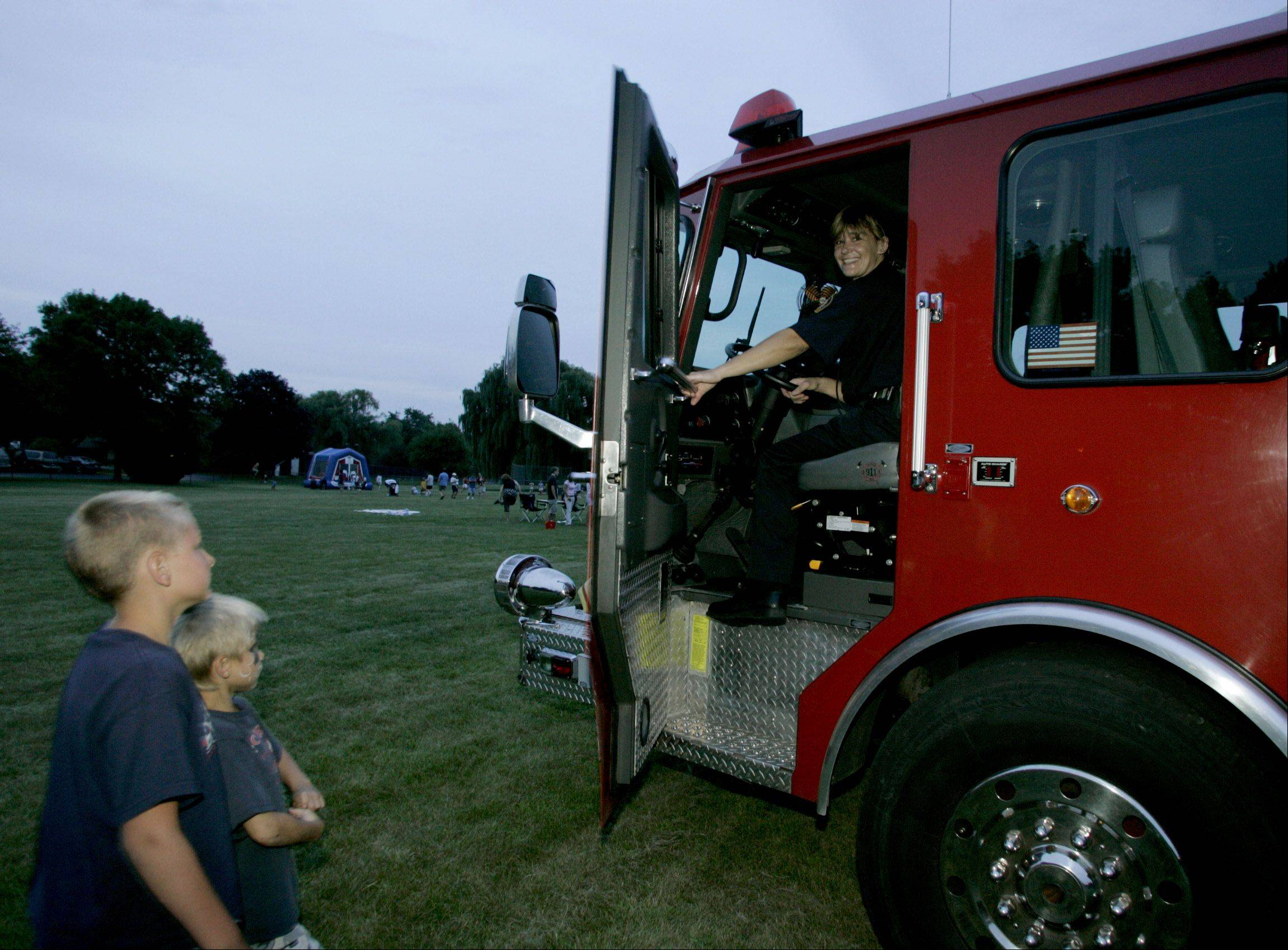 DuPage communities from Itasca to Naperville will observe National Night Out Tuesday, Aug. 7, with a variety of events designed to bring residents in contact with firefighters, police officers and others.