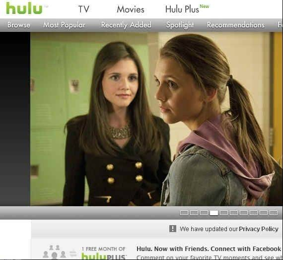 Hulu Plus is now available on Apple TV.
