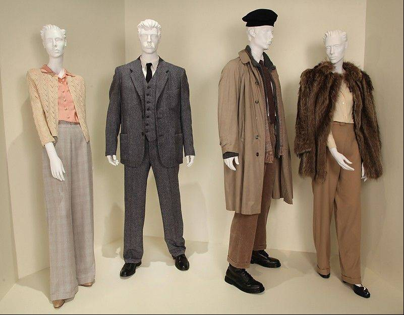 "Costumes from the TV movie ""Hemingway & Gellhorn"" are shown in the exhibit ""The Outstanding Art of Television Costume Design"" at FIDM in Los Angeles. ""Hemingway & Gellhorn"" is nominated for a 2012 Emmy for Outstanding Costume Design. The exhibition runs from July 31 through October 20."