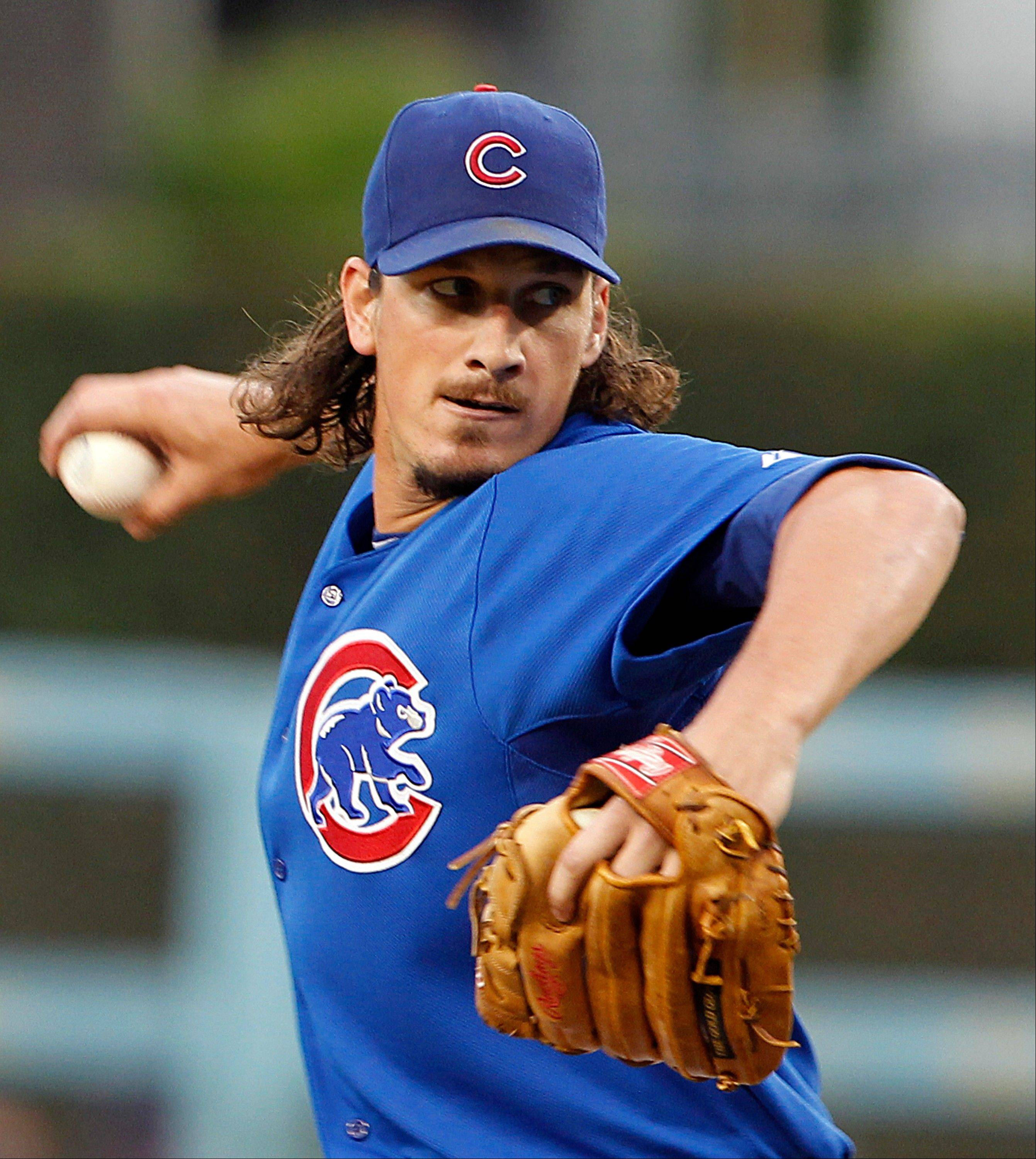 Starting pitcher Jeff Samardzija has stepped up in more ways than one this season for the Cubs.