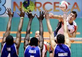 Sean Rooney of Wheaton plays on the U.S. men's volleyball team.