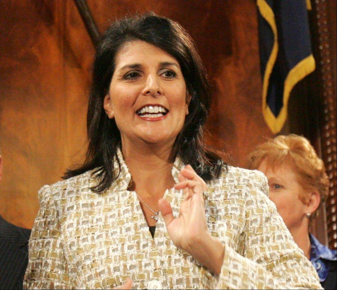 South Carolina Gov. Nikki Haley is among the Republican governors who've balked at creating new consumer health insurance markets under President Barack Obama's health care law.