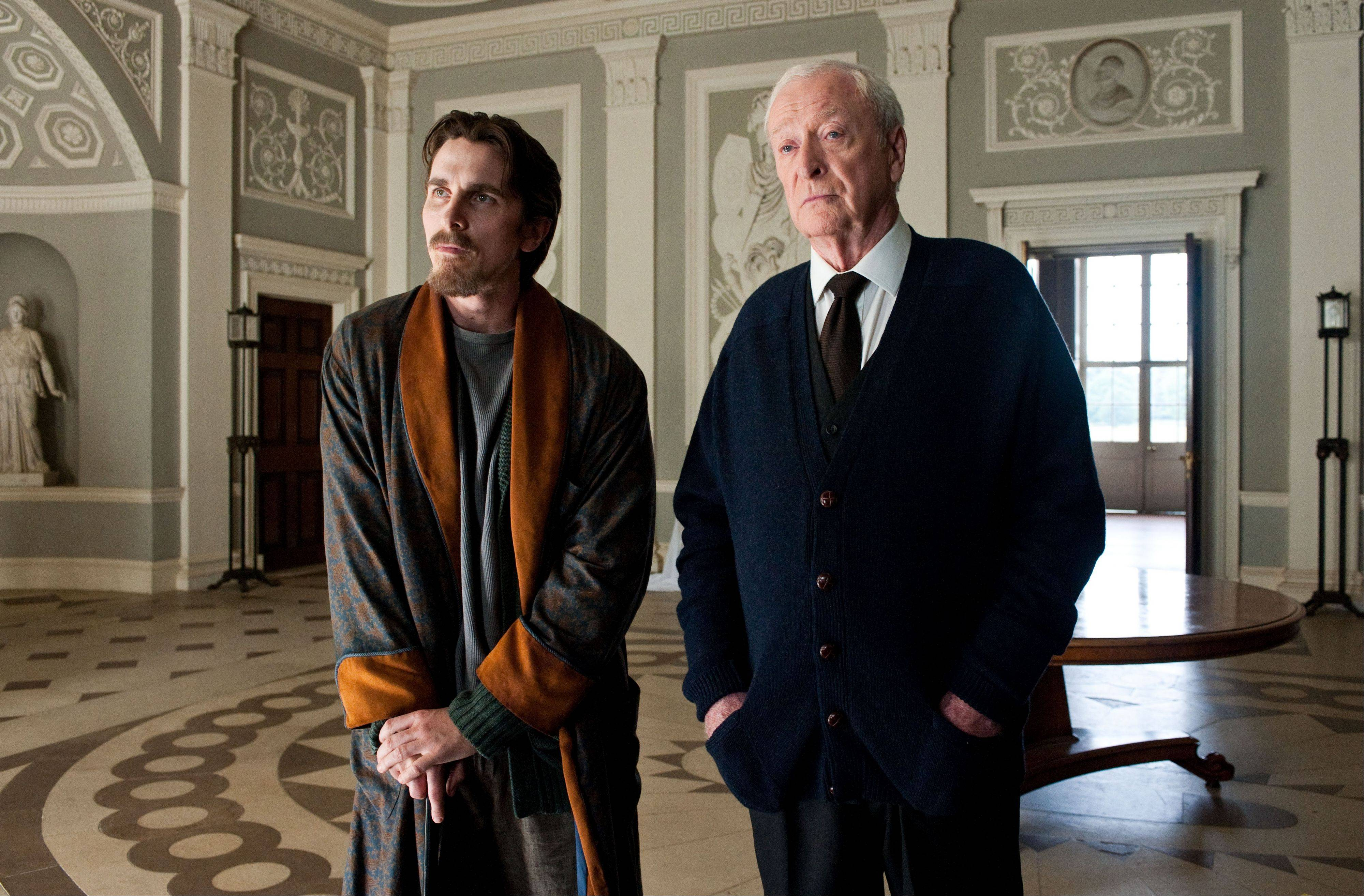 "Michael Caine, who plays Alfred to Christian Bale's Bruce Wayne in ""The Dark Knight Rises,"" thinks that he and Morgan Freeman ""would be very funny together"" in a buddy comedy."
