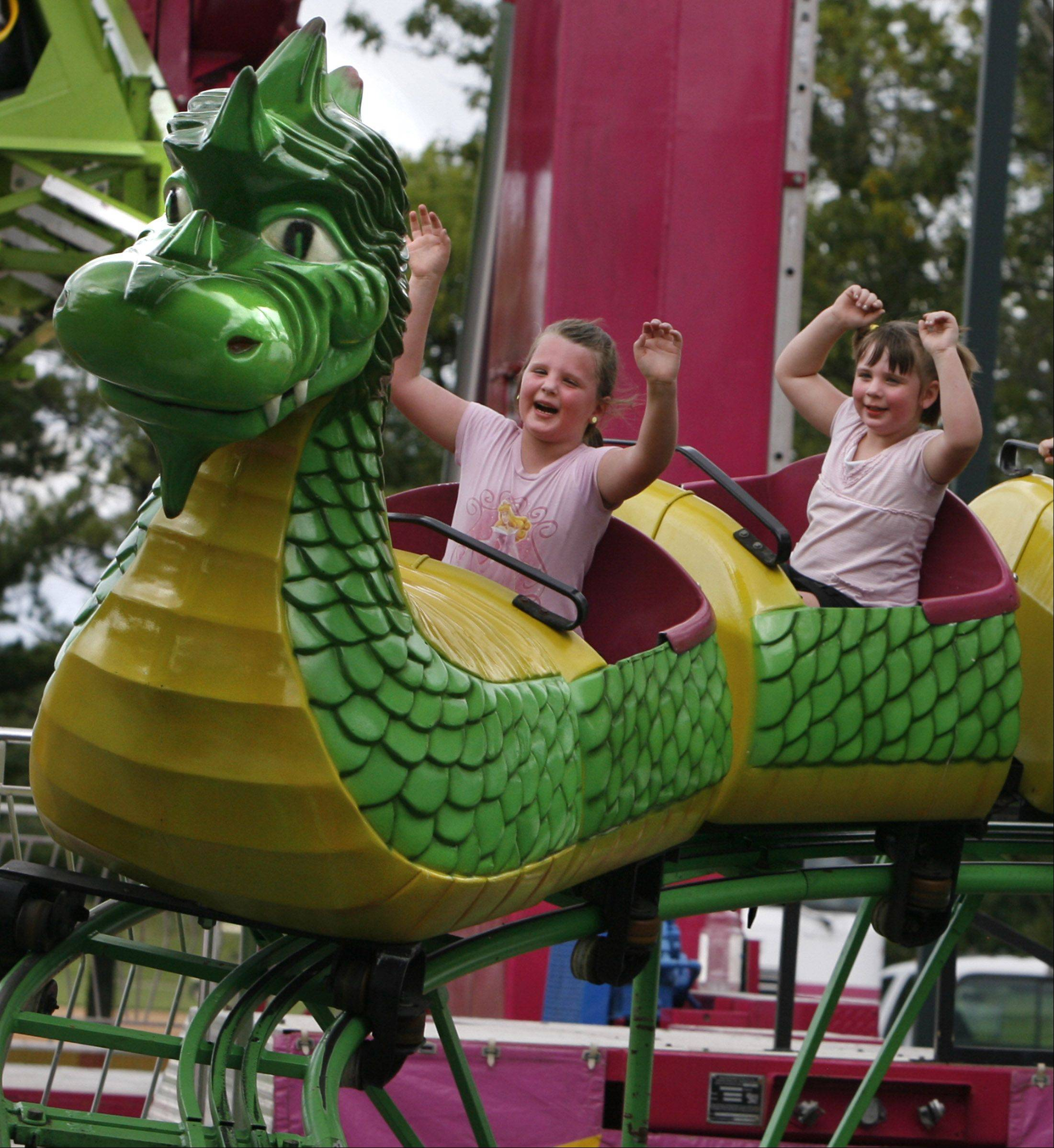 Gurnee Days includes rides in Viking Park.