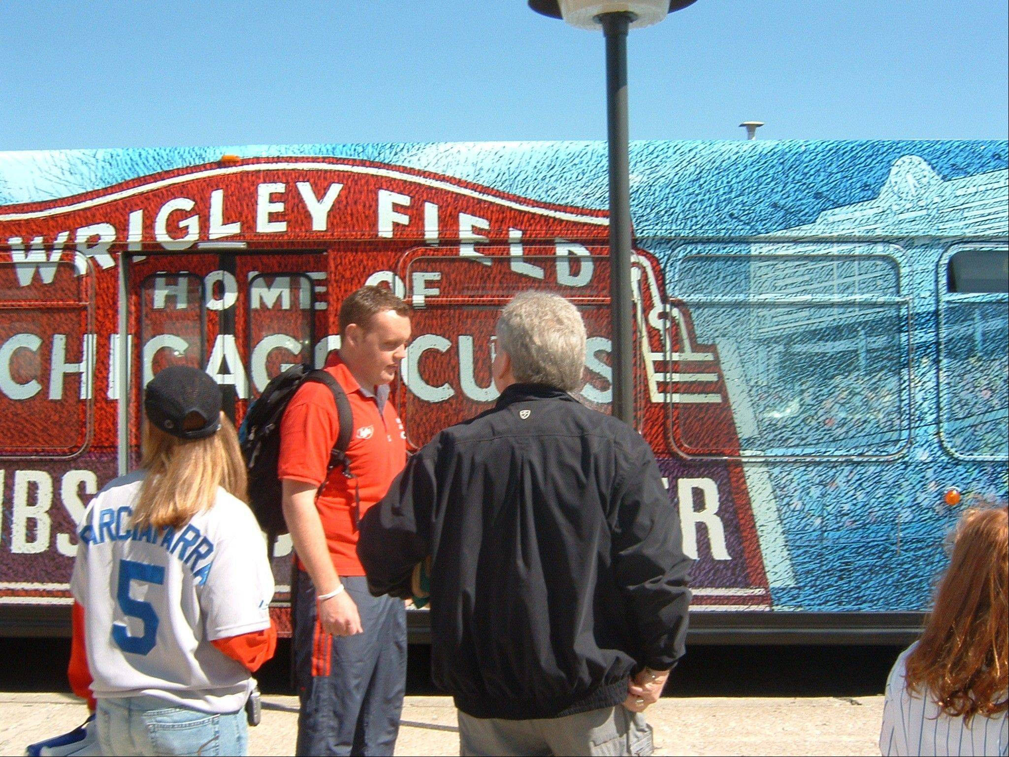 Cubs fans can leave the driving to Pace, which offers a Wrigley Field Express bus with stops in Lombard and Schaumburg.