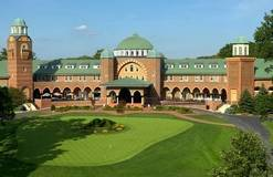 The historic clubhouse at the Medinah Country Club will be the focal point for the 2012 Ryd