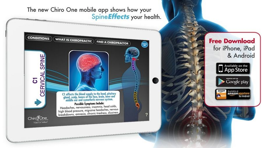 Free interactive mobile app offers education on the spine