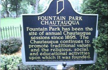 Time spent without TV, air conditioning or email during my family's annual pilgrimage to the Fountain Park Chautauqua in rural Remington, Ind., always gives me an appreciation for simple things such as family, friends and pie.