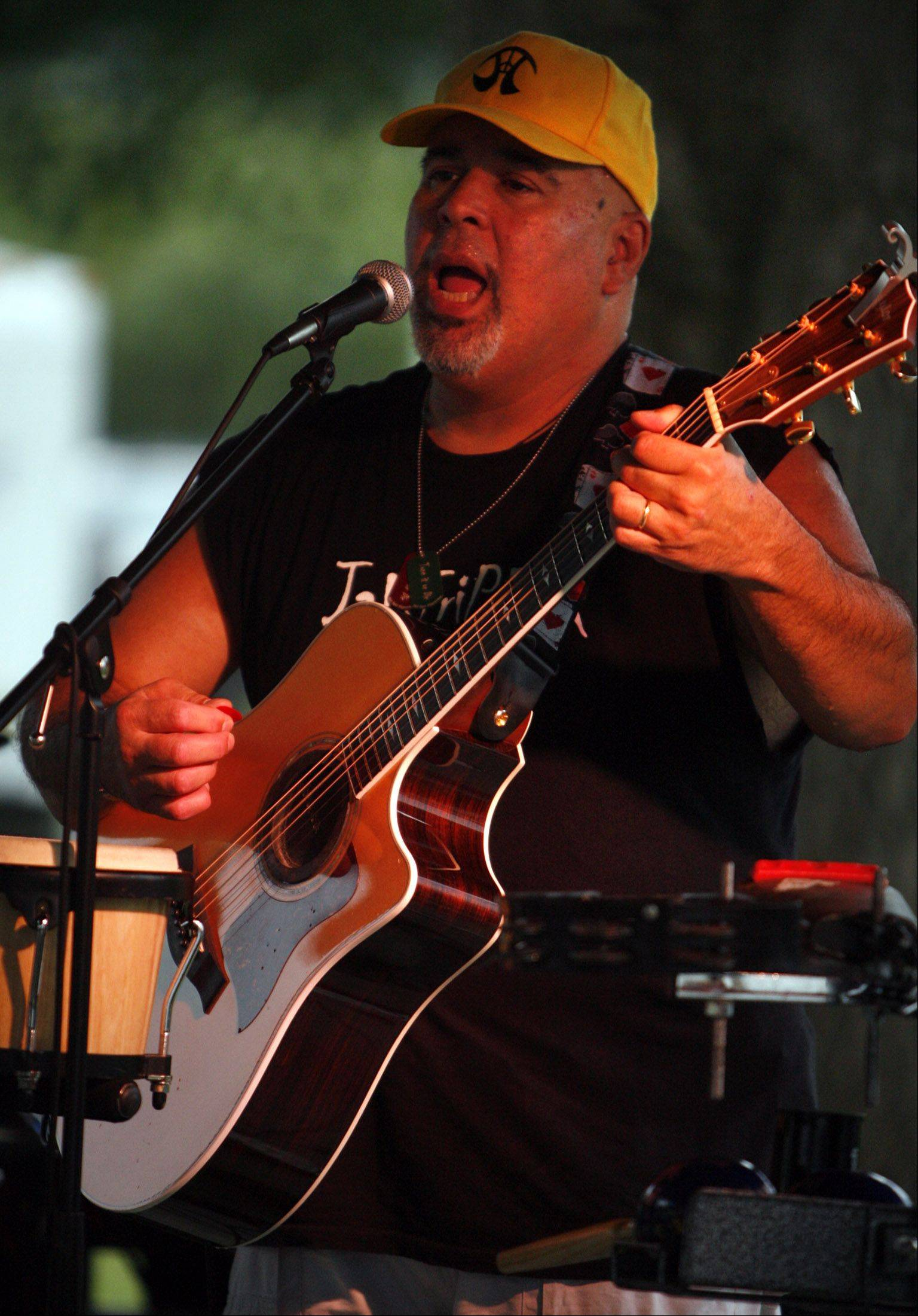 Roy Silva with Jaktripper Band plays at the first day of the Lakemoor Fest in 2010. The band and other favorites are back this weekend Aug. 10-12 on Lily Lake in Lakemoor.