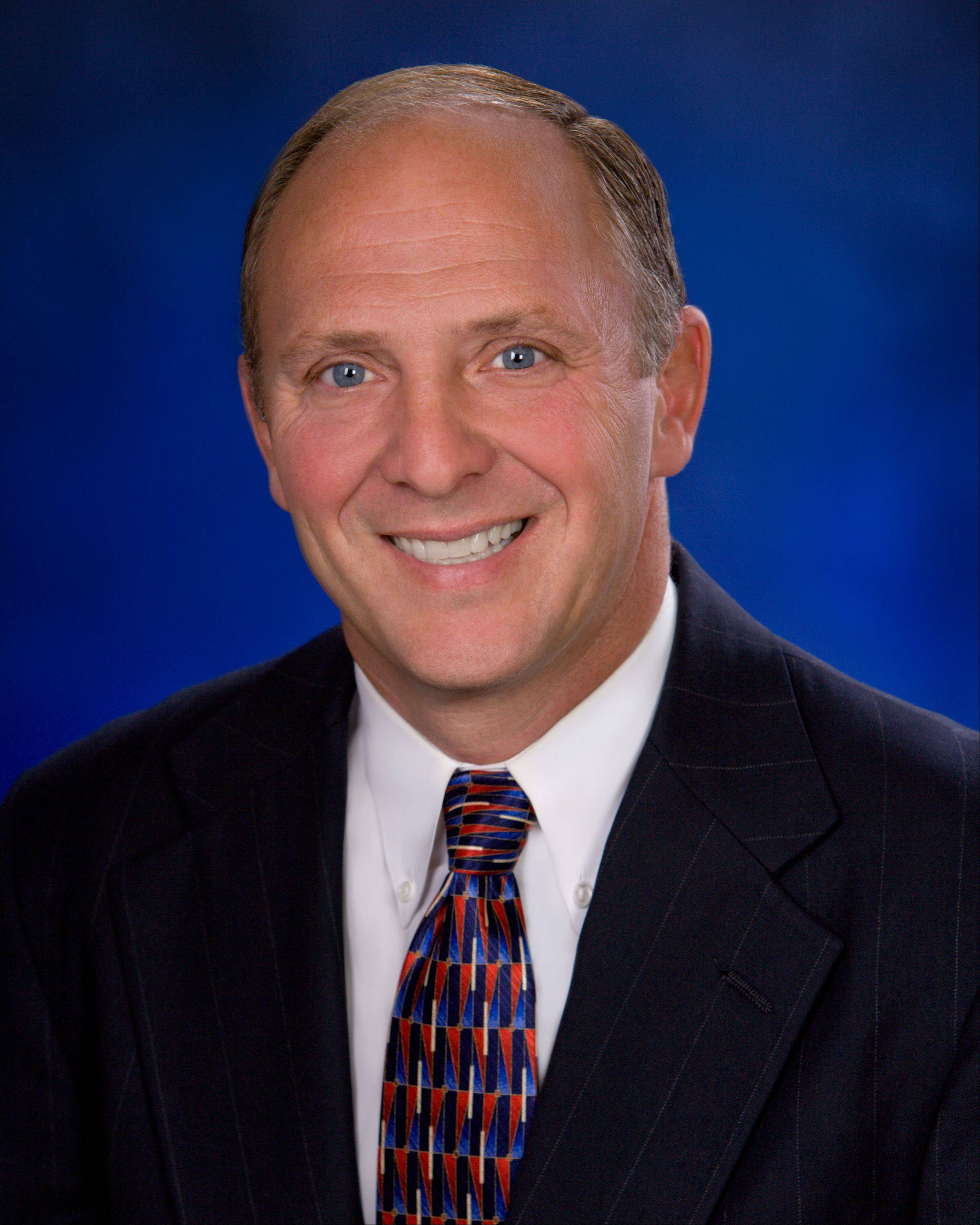Sugar Grove Village President Sean Michels is seeking re-election in 2013.