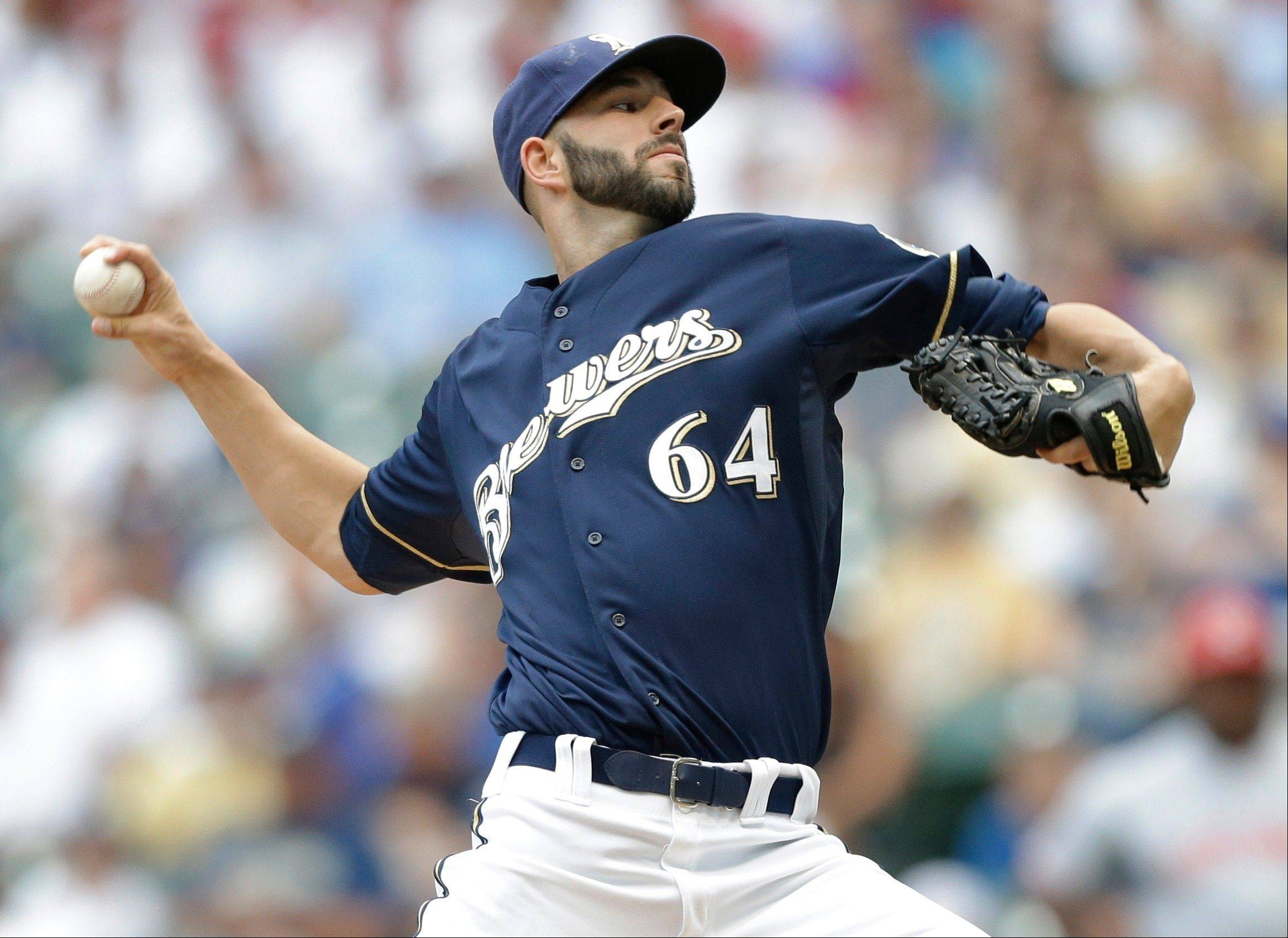 Brewers starting pitcher Mike Fiers hasn't allowed more than two runs in any of his last nine starts, racking up 61 strikeouts in 61 innings.