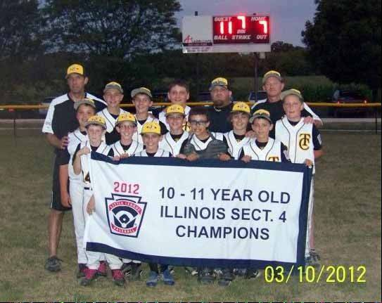 Tri-Cities Little League All-Stars 10- to 11-year-olds took fourth place in the Illinois Little League State Tournament.