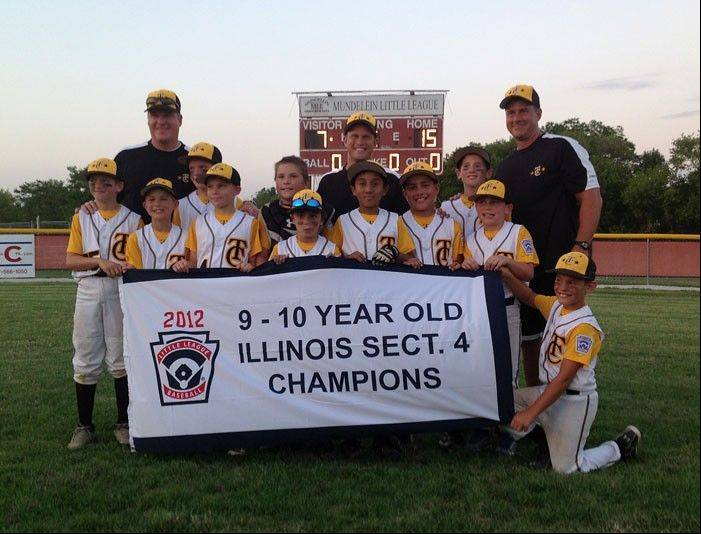 Tri-Cities Little League 9- to 10-year-old All Star team recently placed second in the Illinois Little League State Tournament.