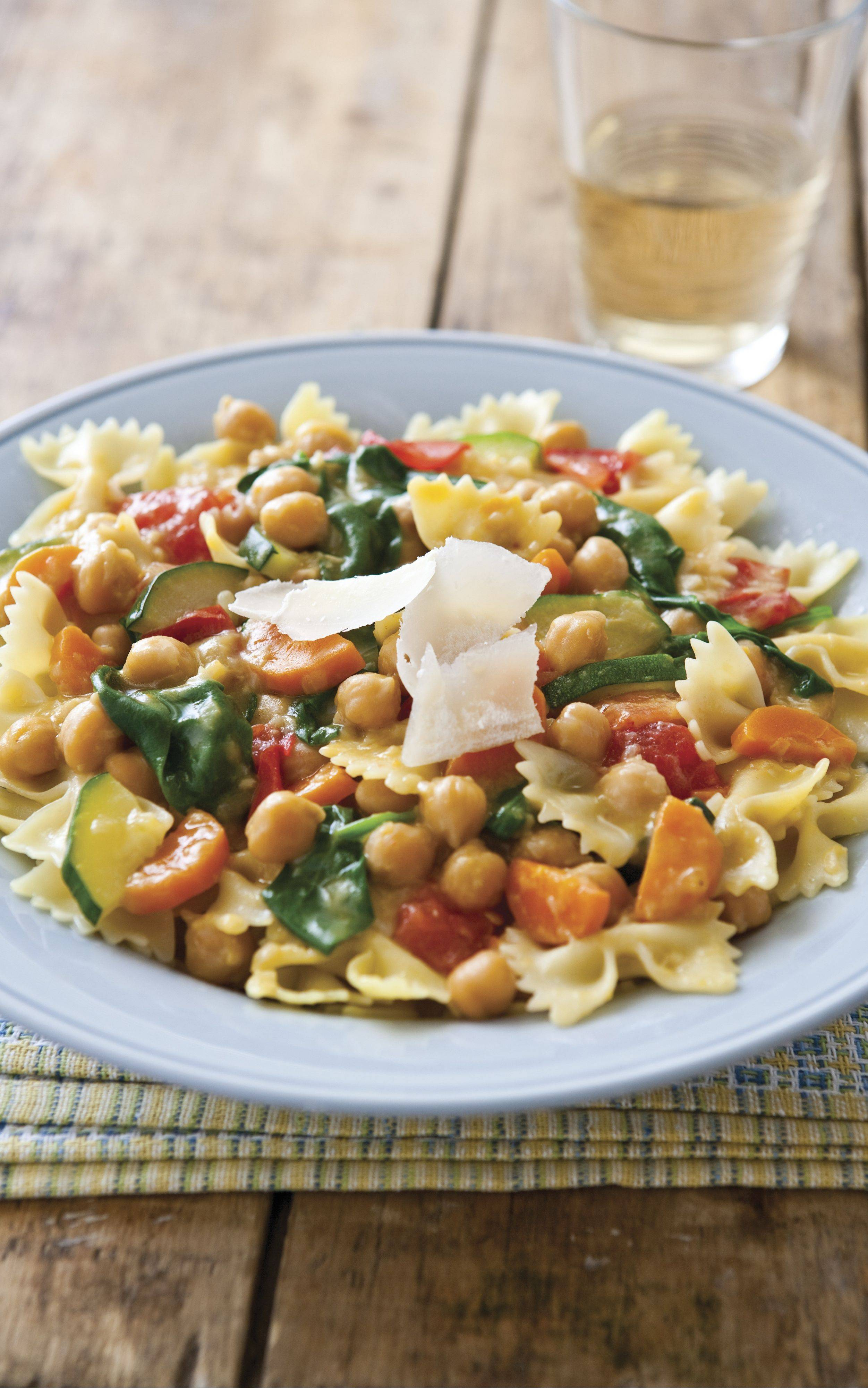 Garden Vegetable Sauce with Chickpeas
