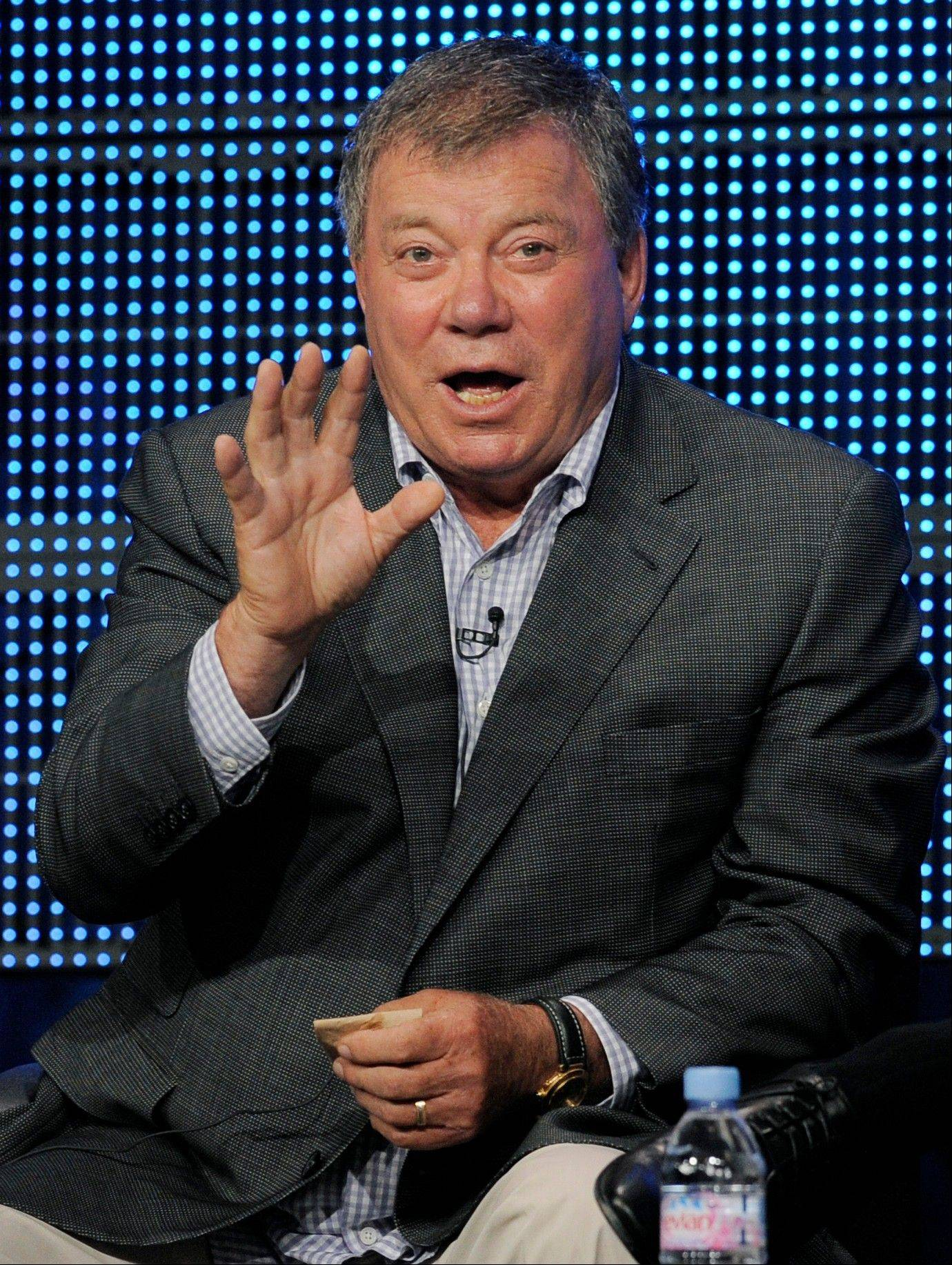 "Three former ""Star Trek"" captains — William Shatner (pictured), Avery Brooks and Scott Bakula — will take the stage for a discussion of galactic journeys at 5 p.m. Friday, Aug. 10, at Wizard World Chicago Comic Con."