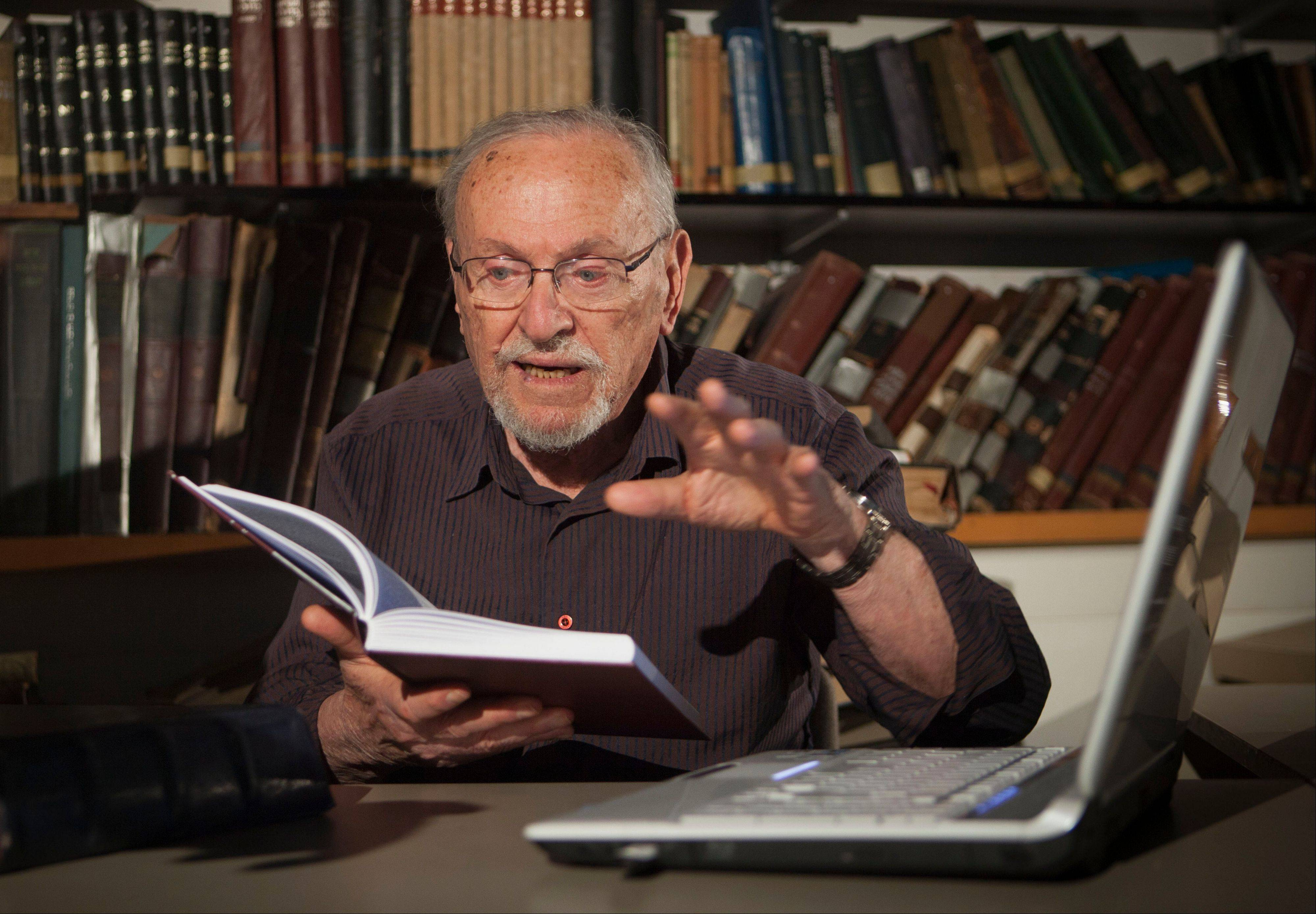 For the past 30 years the 84-year-old Judaic biblical scholar Professor Menachem Cohen has been immersed in a Sisyphean task of correcting all known errors in Jewish scripture to produce a definitive edition of the Hebrew Bible. Now, thanks to the Internet, he's bringing it to the general public like never before with a sophisticated search engine that allows even novices to explore the holy text with ease.
