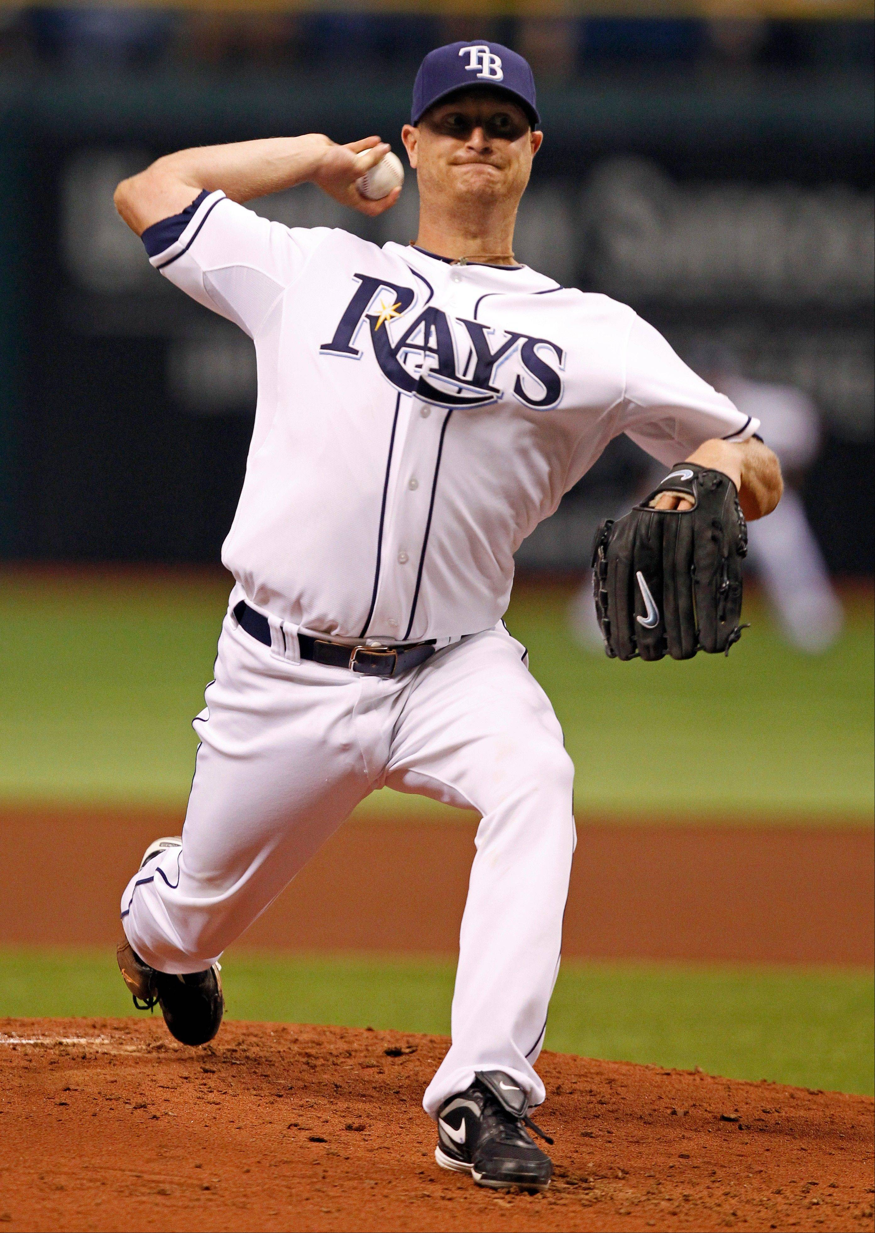 Tampa Bay Rays starting pitcher Alex Cobb allowed one run and five hits, striking out seven, on Wednesday at home against Toronto.