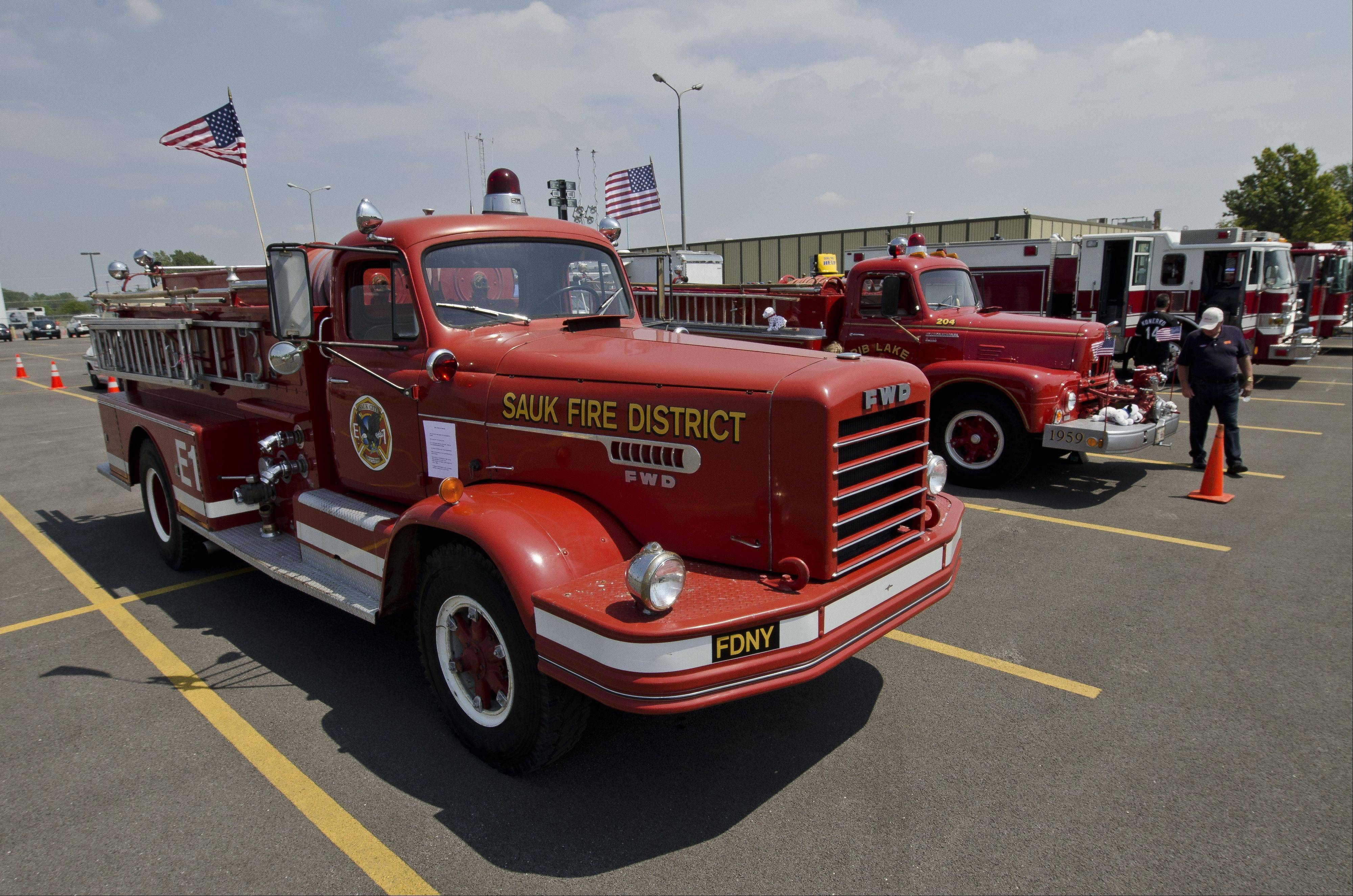 There is a niche group of collectors who like to restore vintage fire trucks and emergency vehicles.