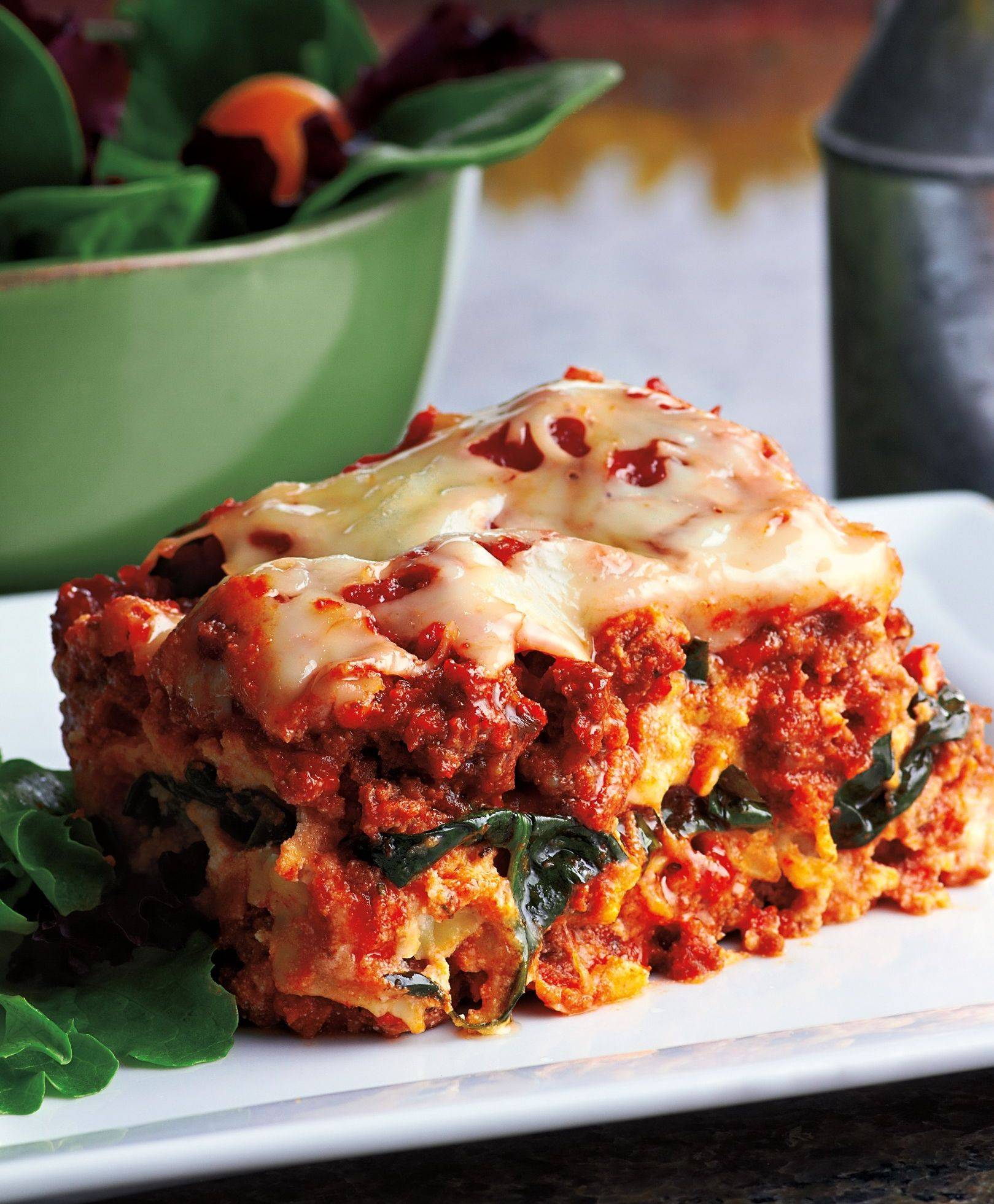 Crockin' Lasagna is a satisfying and delicious meal.